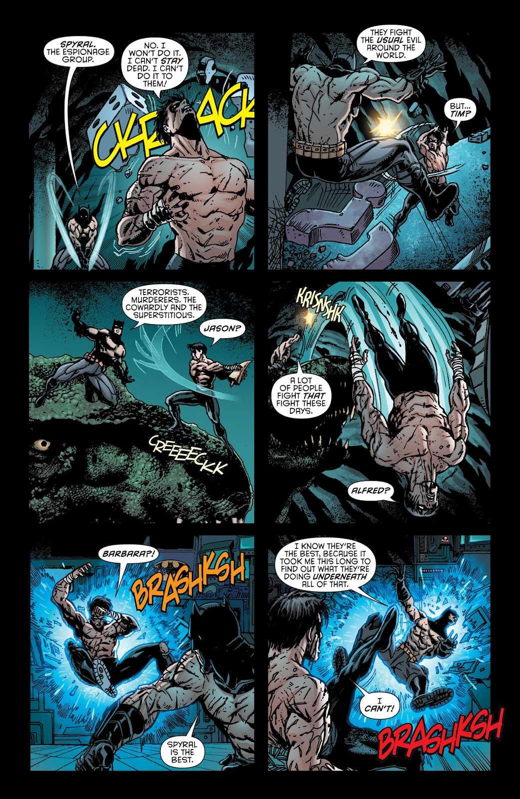 Nightwing (2011) Issue #30 #32 - English 16