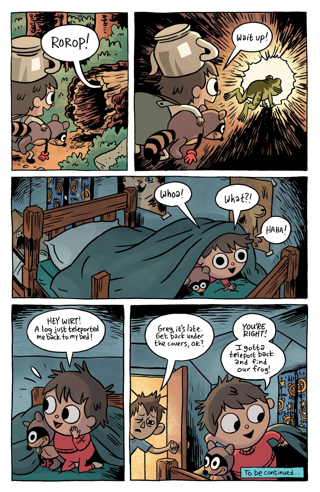 Over the Garden Wall (2016) Issue #1 #1 - English 12