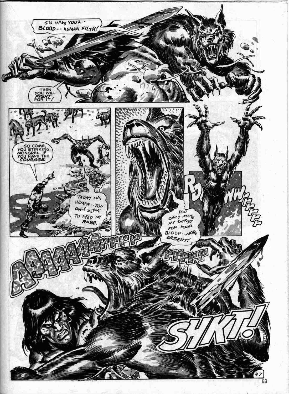 The Savage Sword Of Conan Issue #133 #134 - English 52