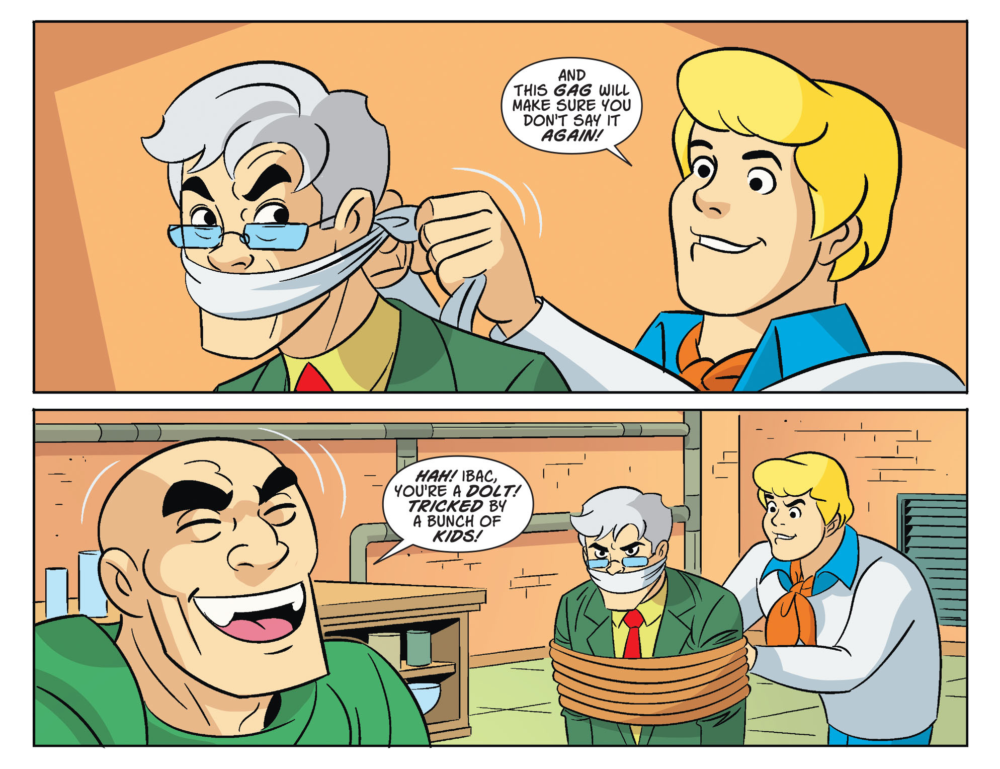 Read online Scooby-Doo! Team-Up comic -  Issue #32 - 17