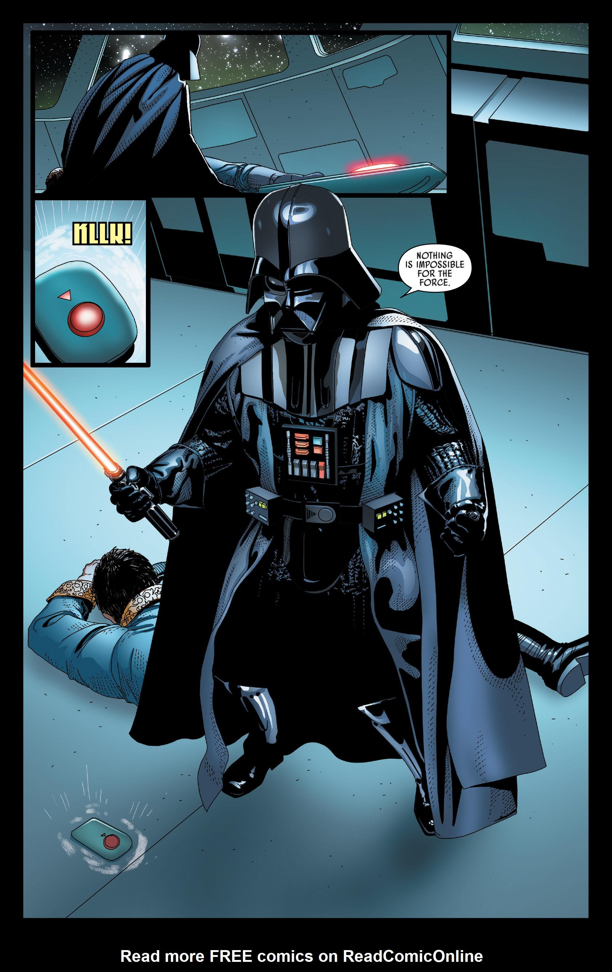 Read online Darth Vader comic -  Issue #24 - 19