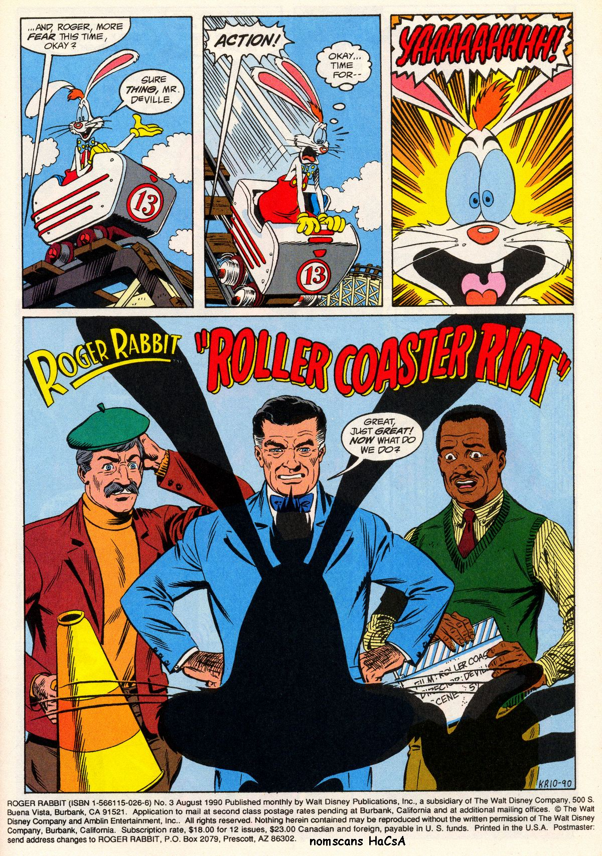 Contemporary Who Framed Roger Rabbit Comic Image Collection - Framed ...