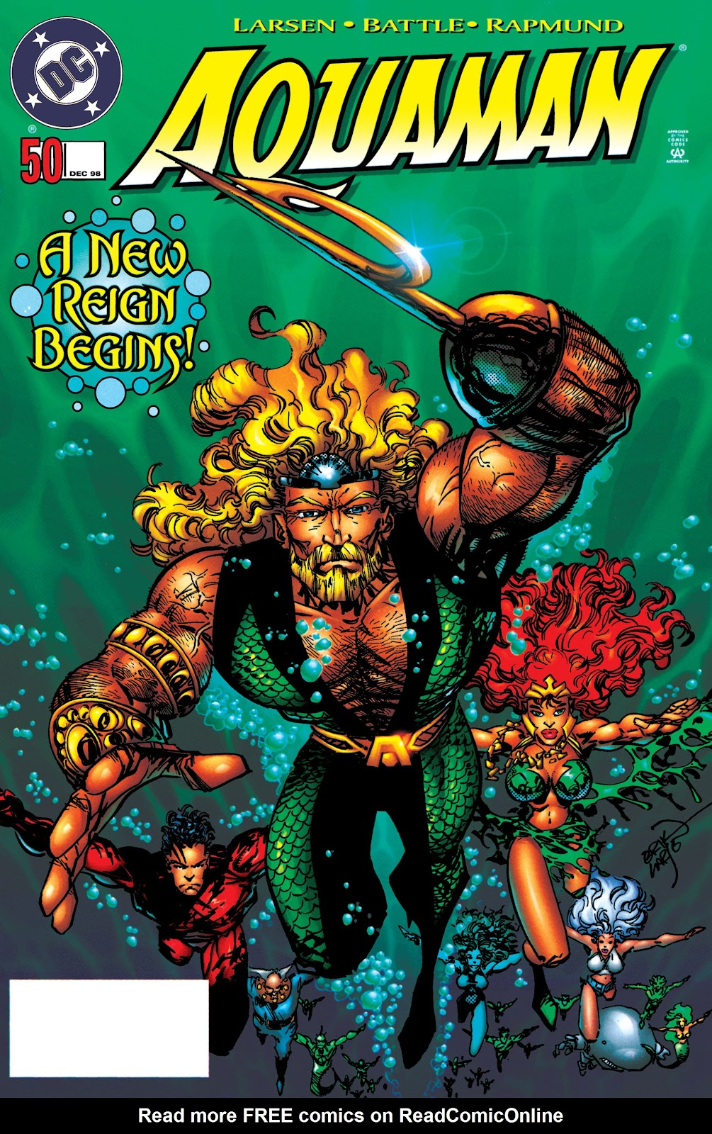 Aquaman (1994) Issue #50 #56 - English 1