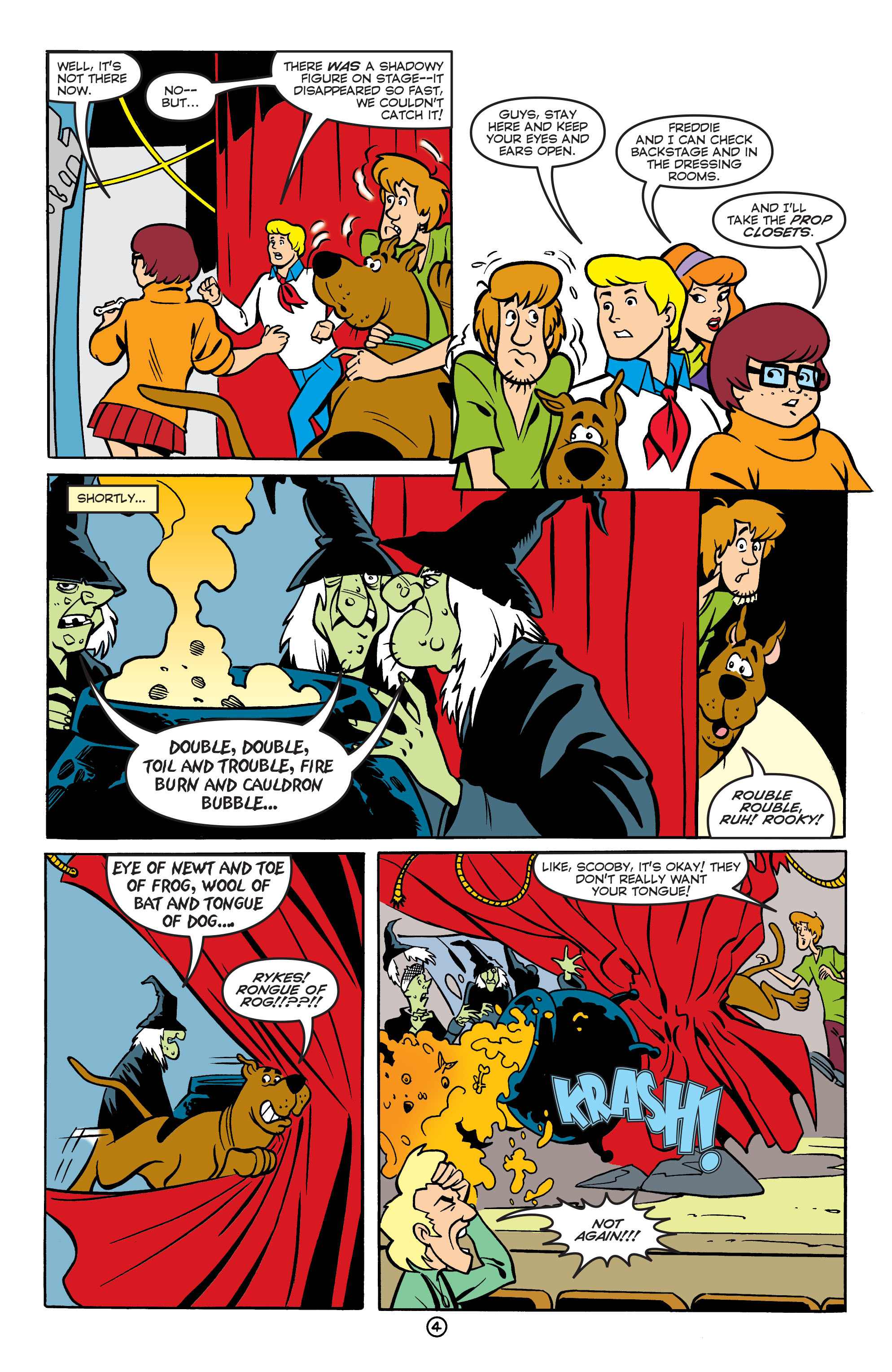Read online Scooby-Doo: Where Are You? comic -  Issue #55 - 15