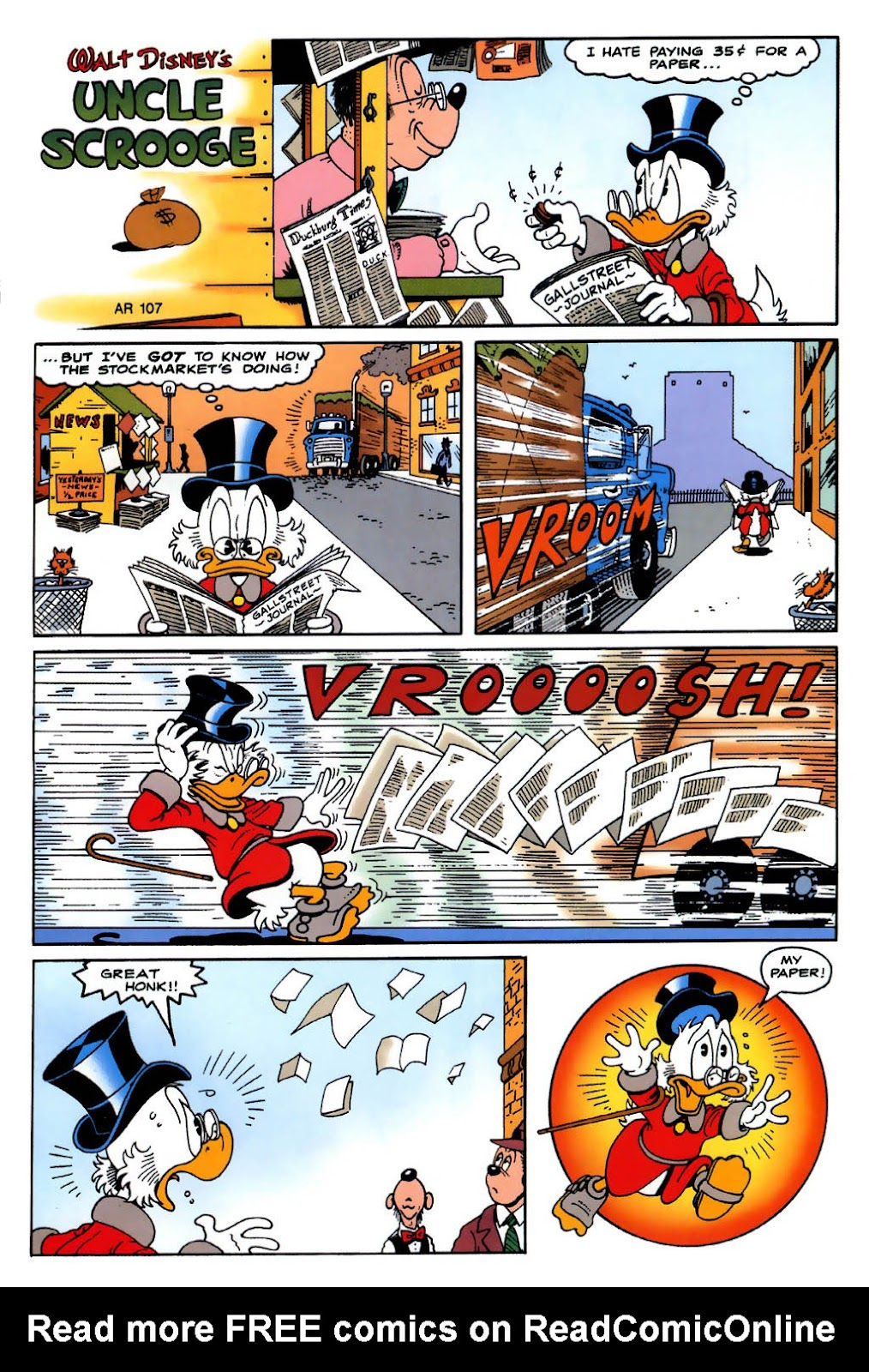 Uncle Scrooge (1953) Issue #322 #322 - English 35