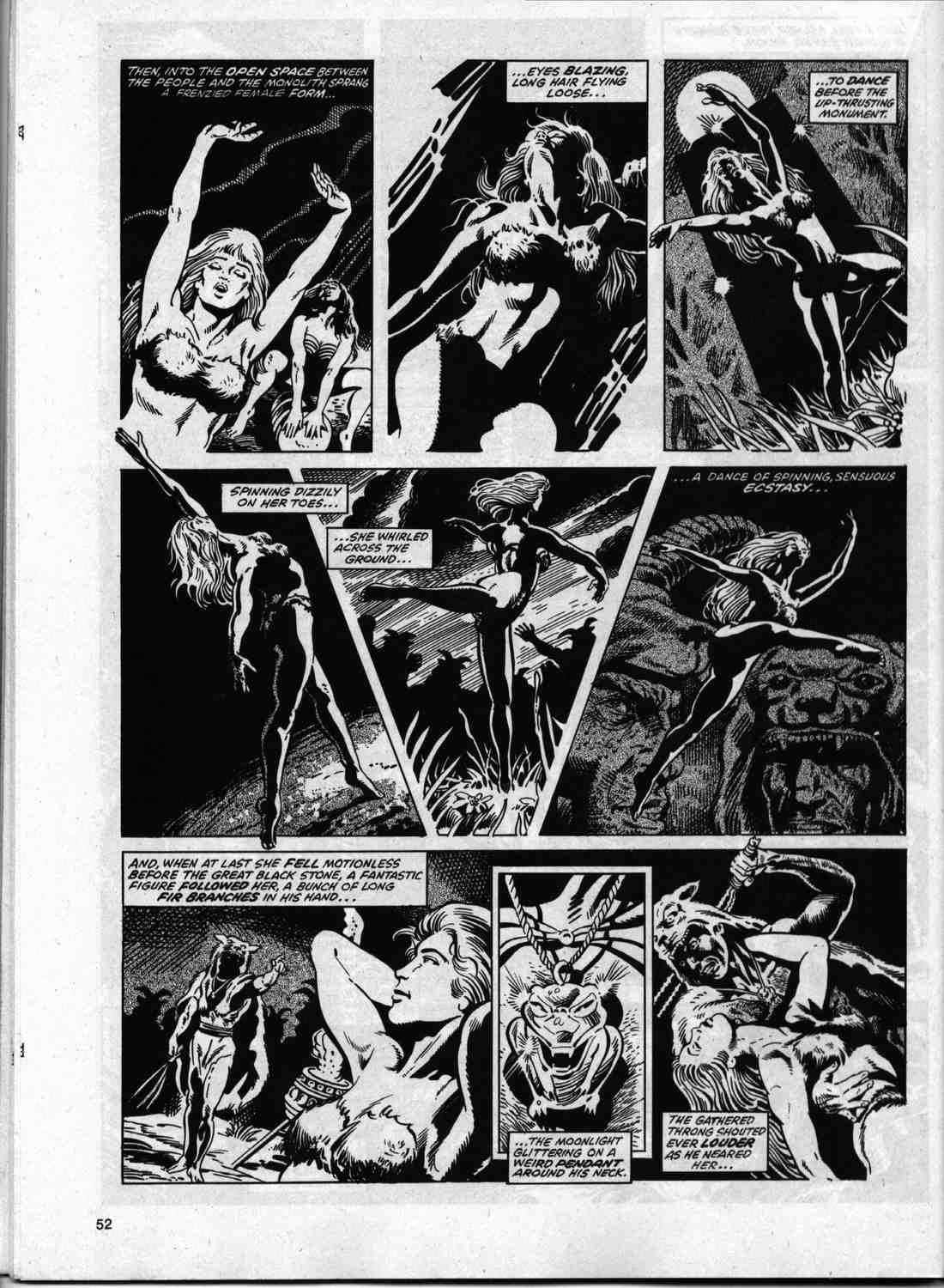 The Savage Sword Of Conan Issue #74 #75 - English 50