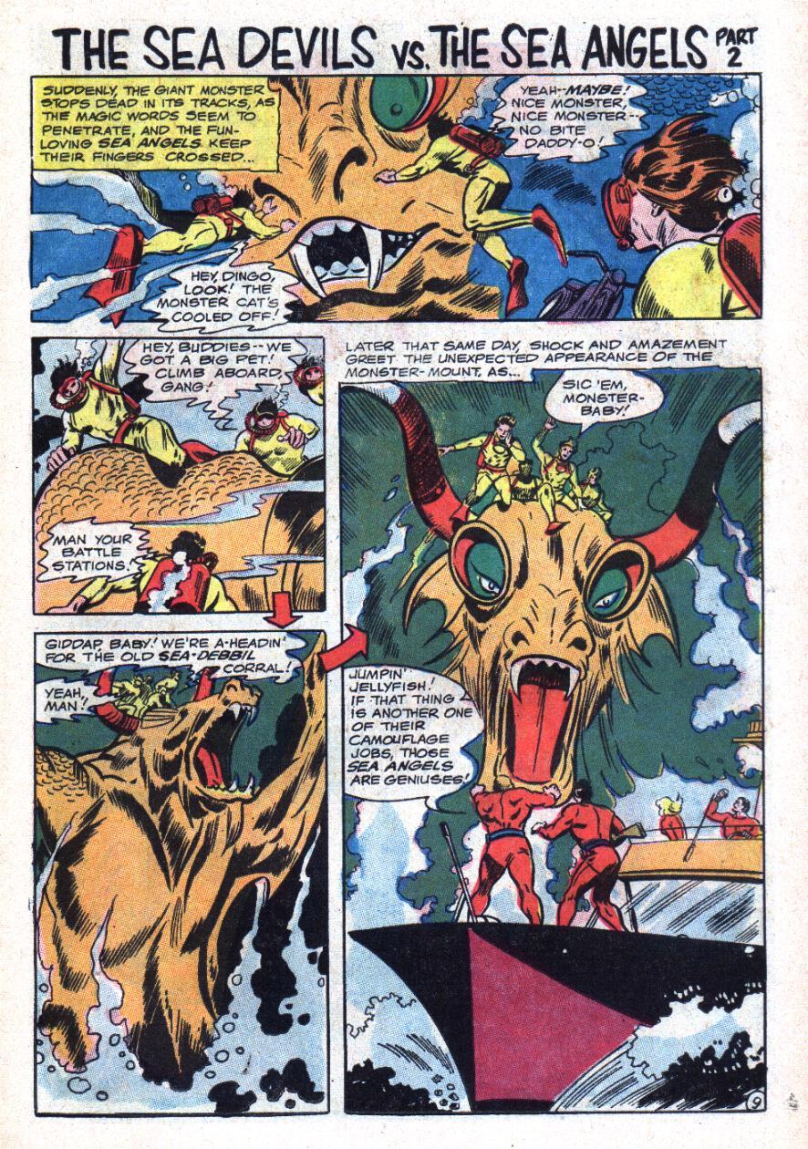 Read online Sea Devils comic -  Issue #34 - 16
