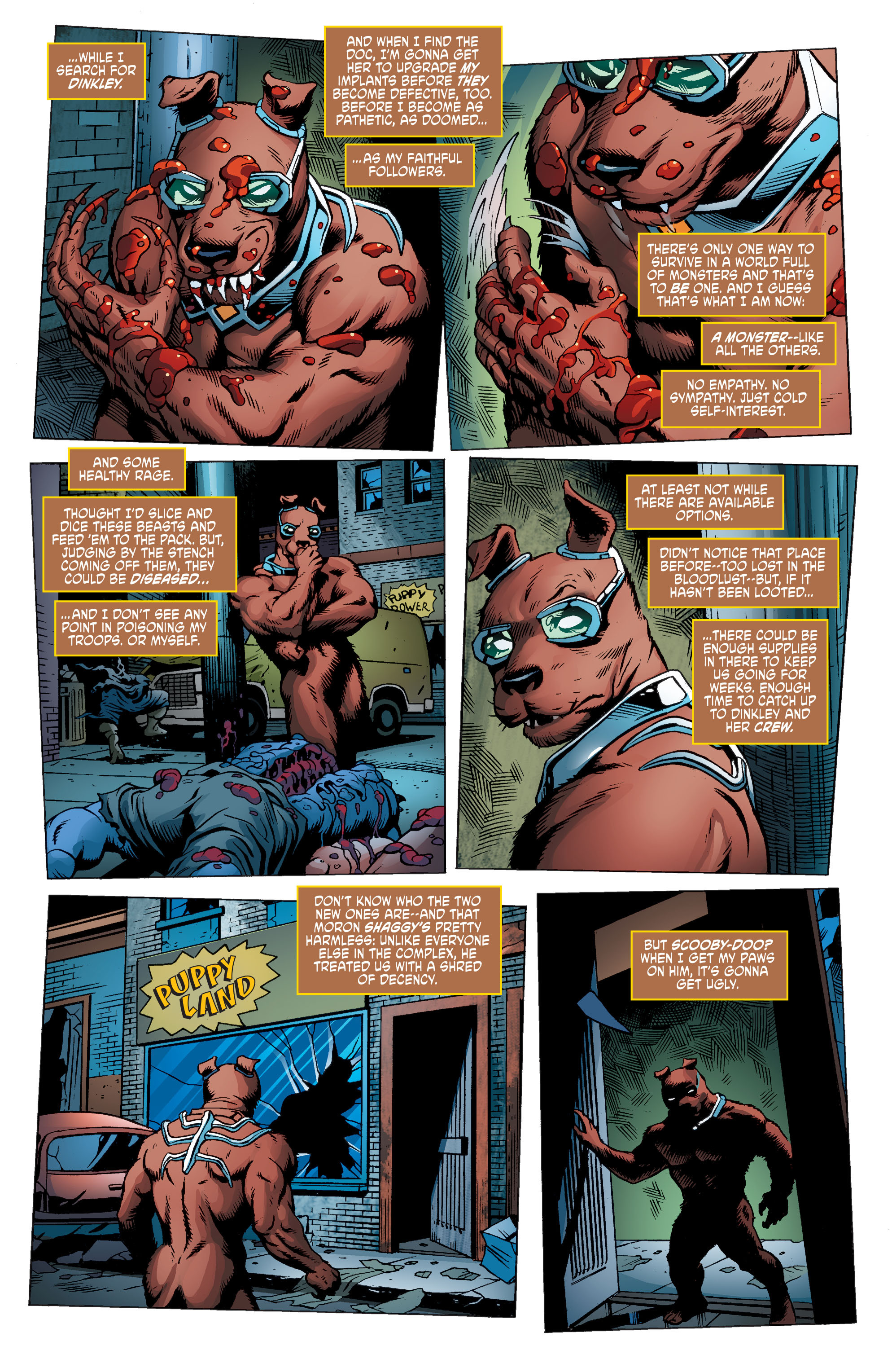 Read online Scooby Apocalypse comic -  Issue #9 - 22