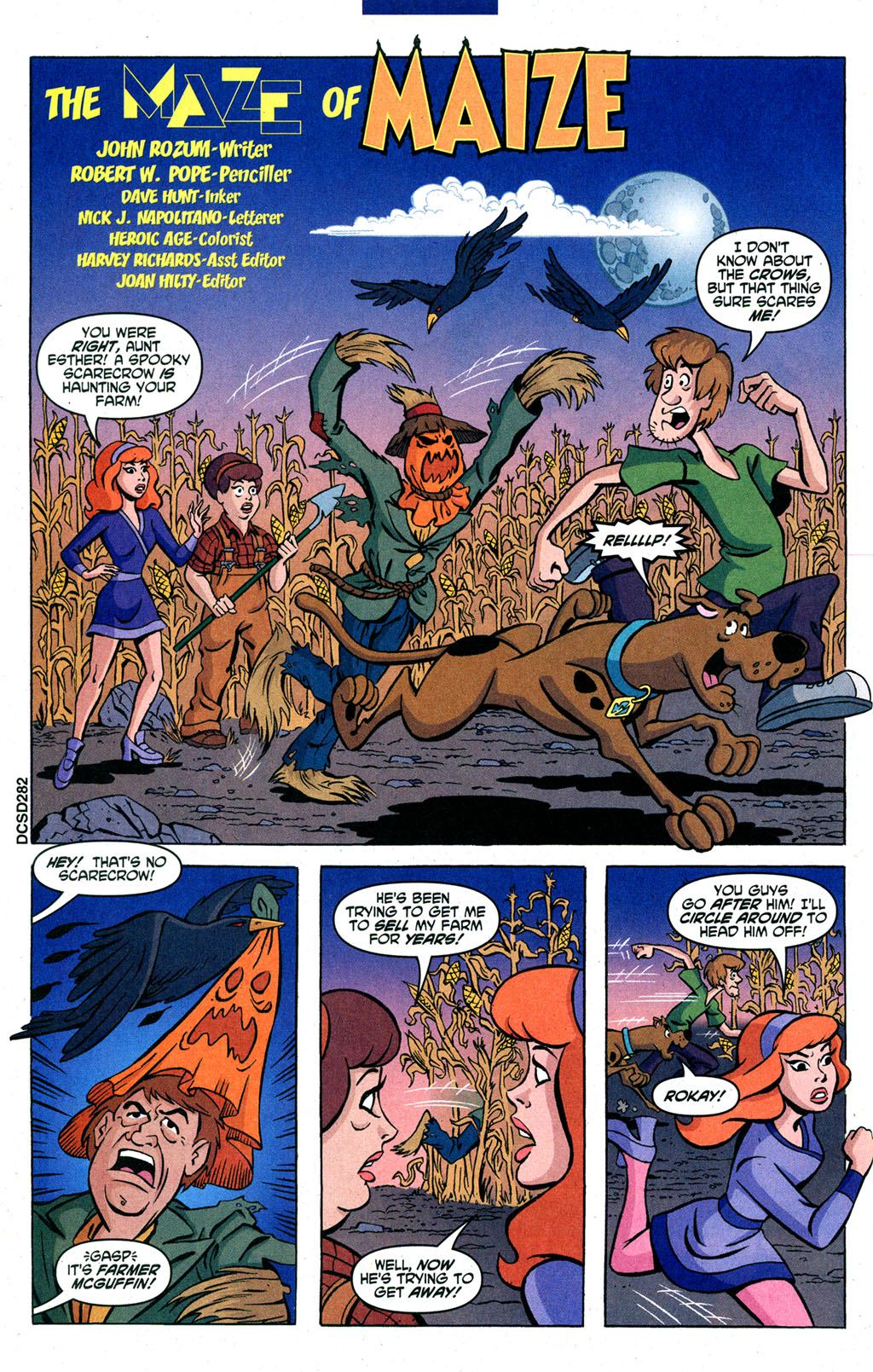 Read online Scooby-Doo (1997) comic -  Issue #91 - 15