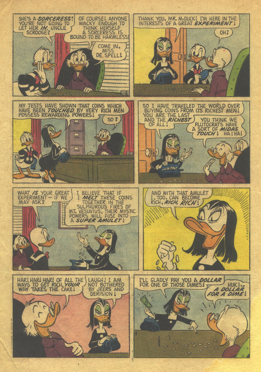 Uncle Scrooge (1953) Issue #36 #36 - English 4