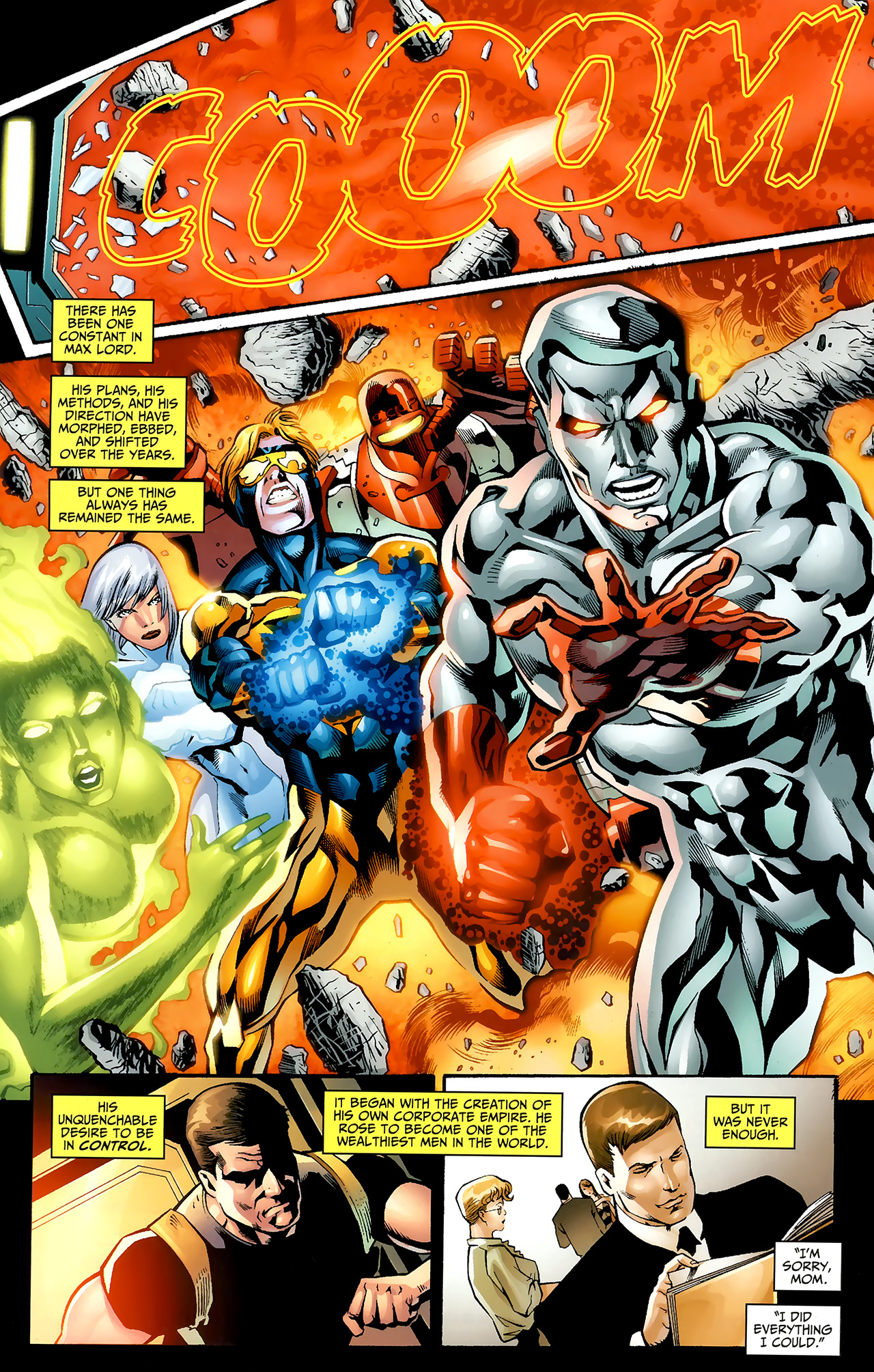 Read online Justice League: Generation Lost comic -  Issue #20 - 8