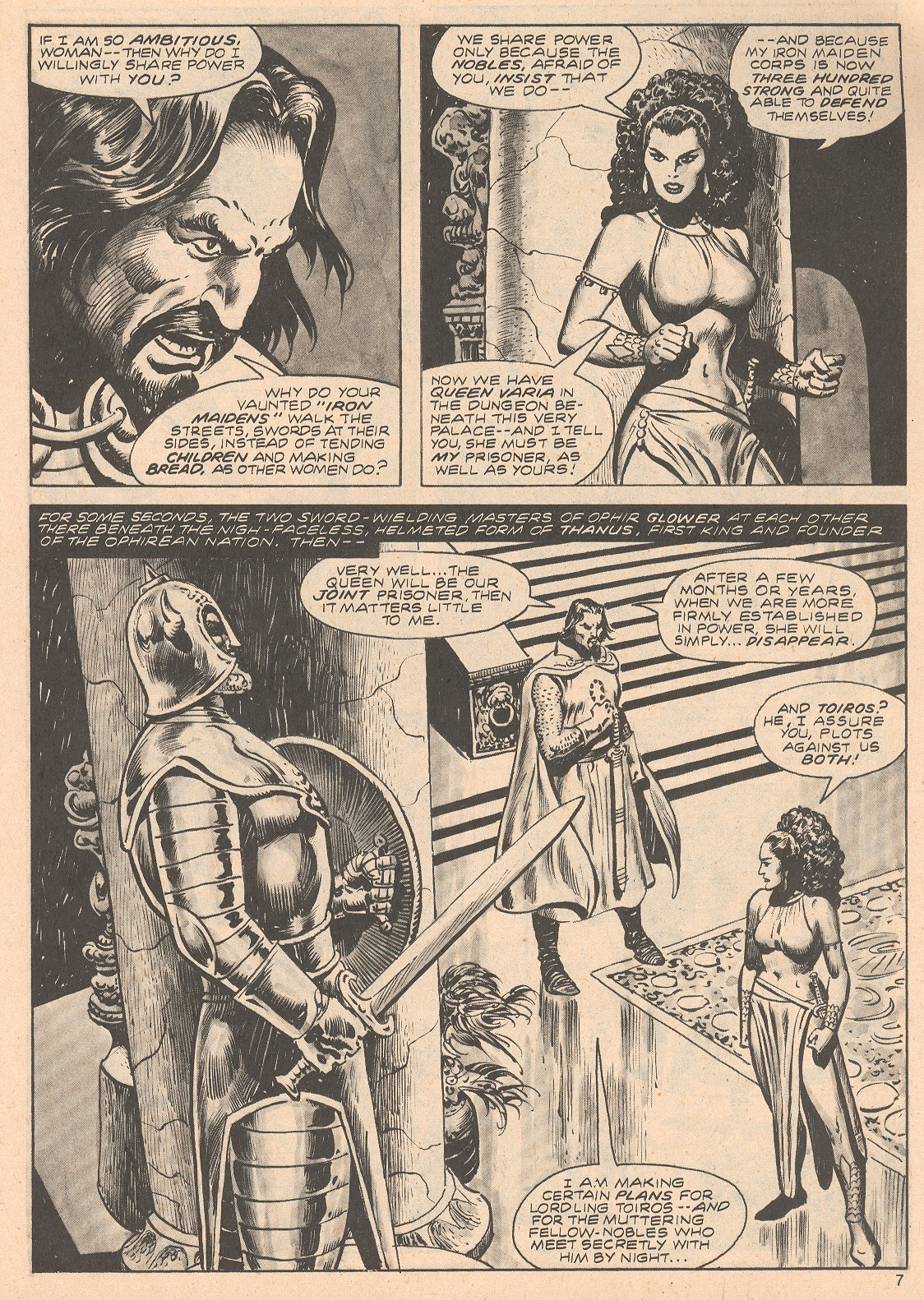 The Savage Sword Of Conan Issue #68 #69 - English 7