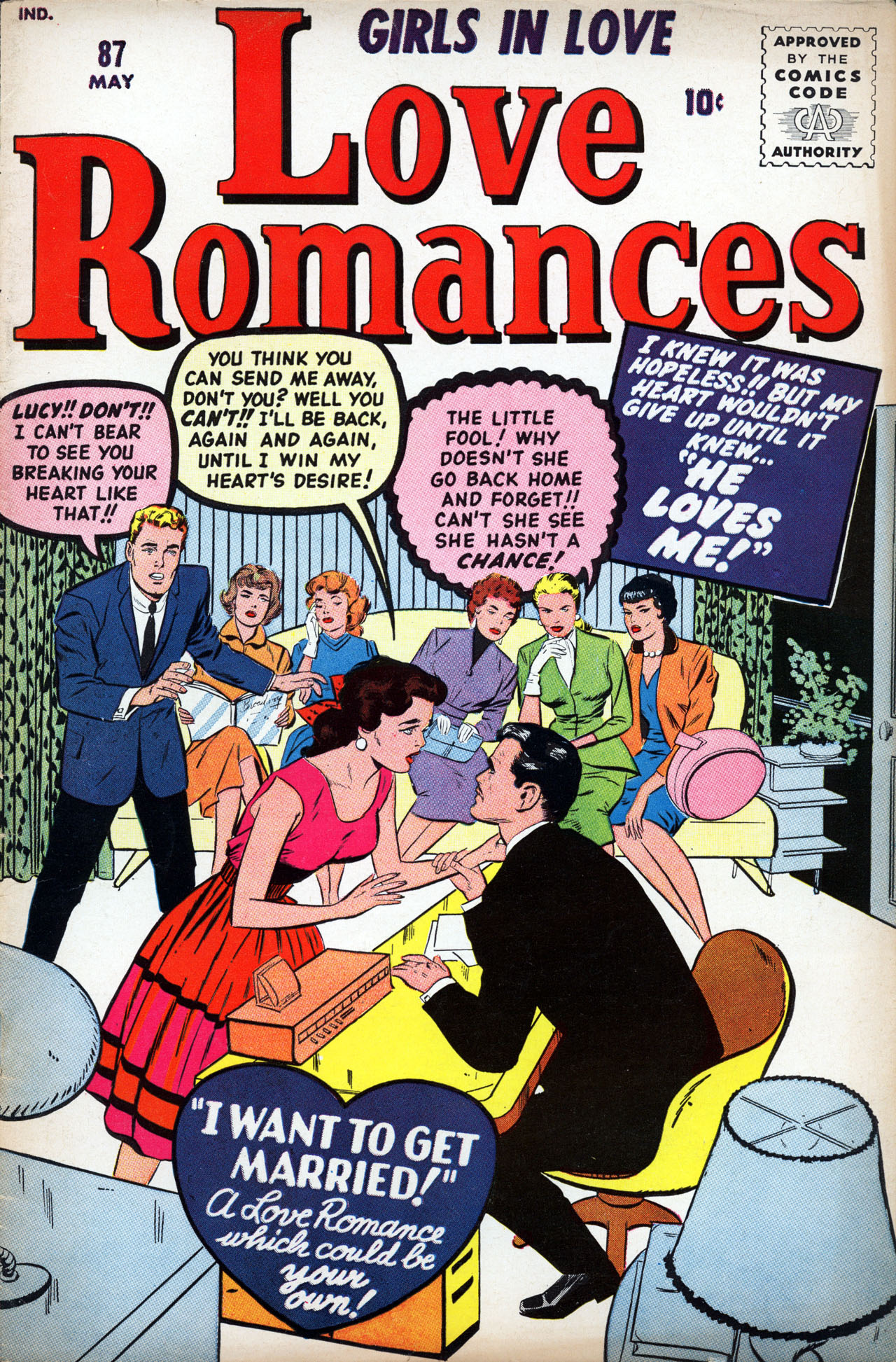 Love Romances 87 Page 1