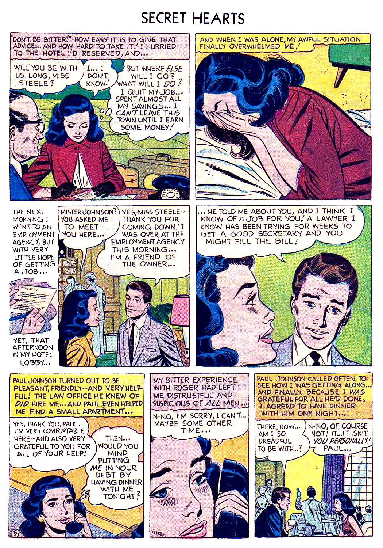 Read online Secret Hearts comic -  Issue #41 - 7
