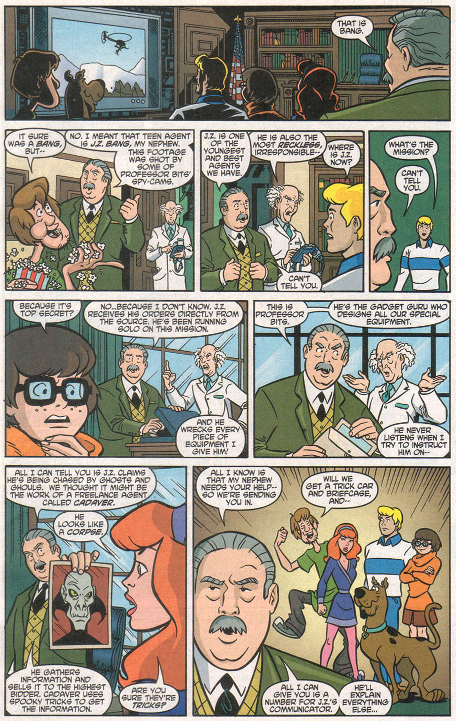 Read online Scooby-Doo (1997) comic -  Issue #106 - 5