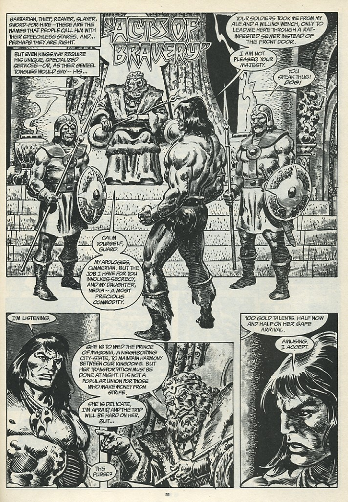 The Savage Sword Of Conan Issue #185 #186 - English 53