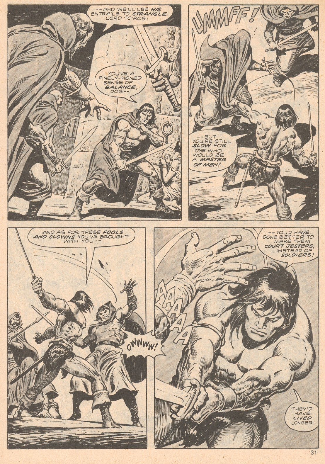 The Savage Sword Of Conan Issue #68 #69 - English 31