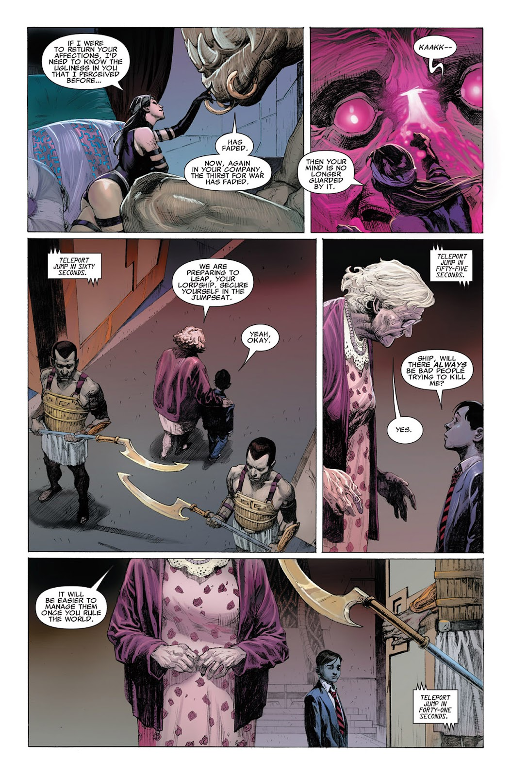 Uncanny X-Force (2010) Issue #3 #3 - English 21