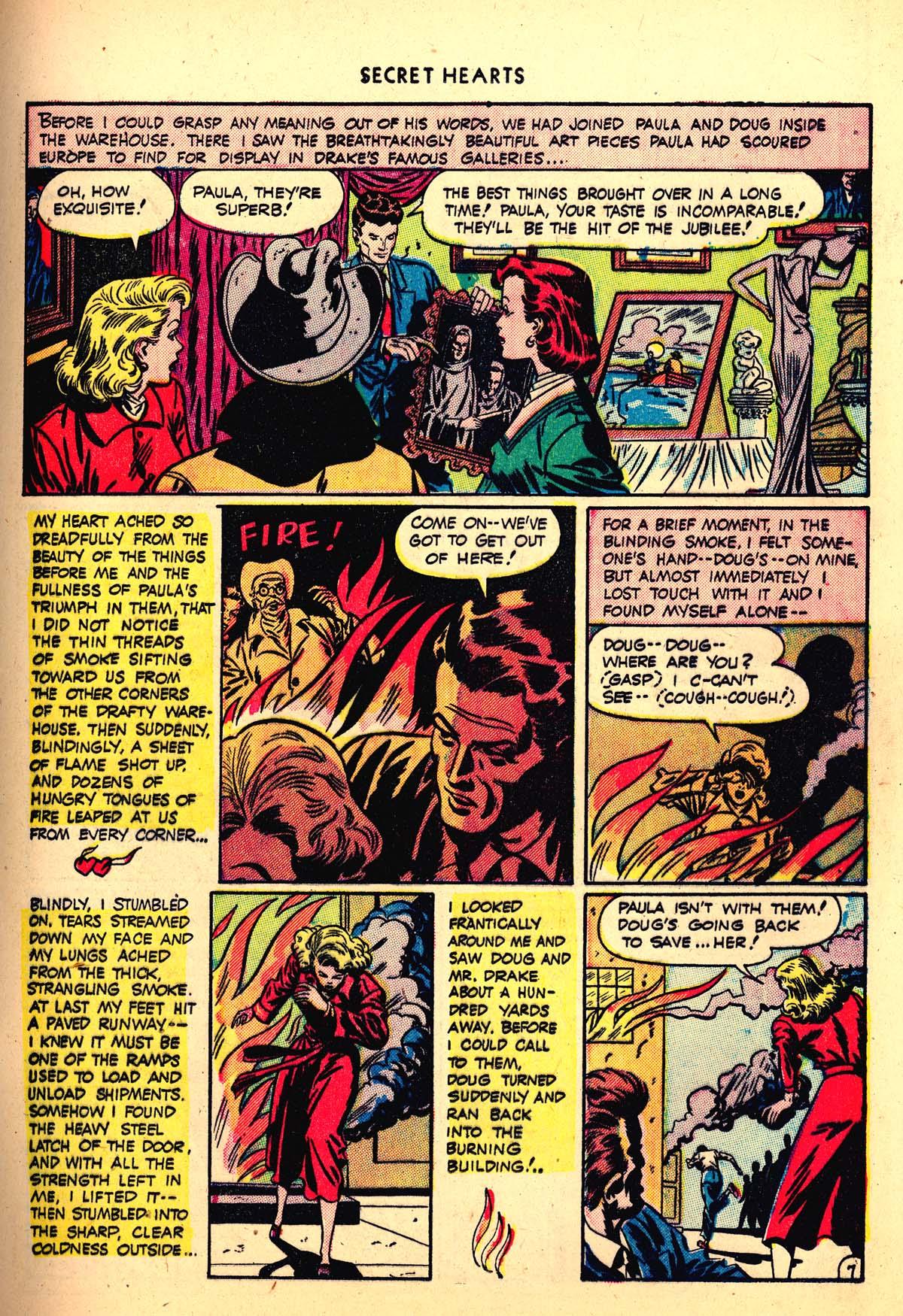 Read online Secret Hearts comic -  Issue #4 - 19