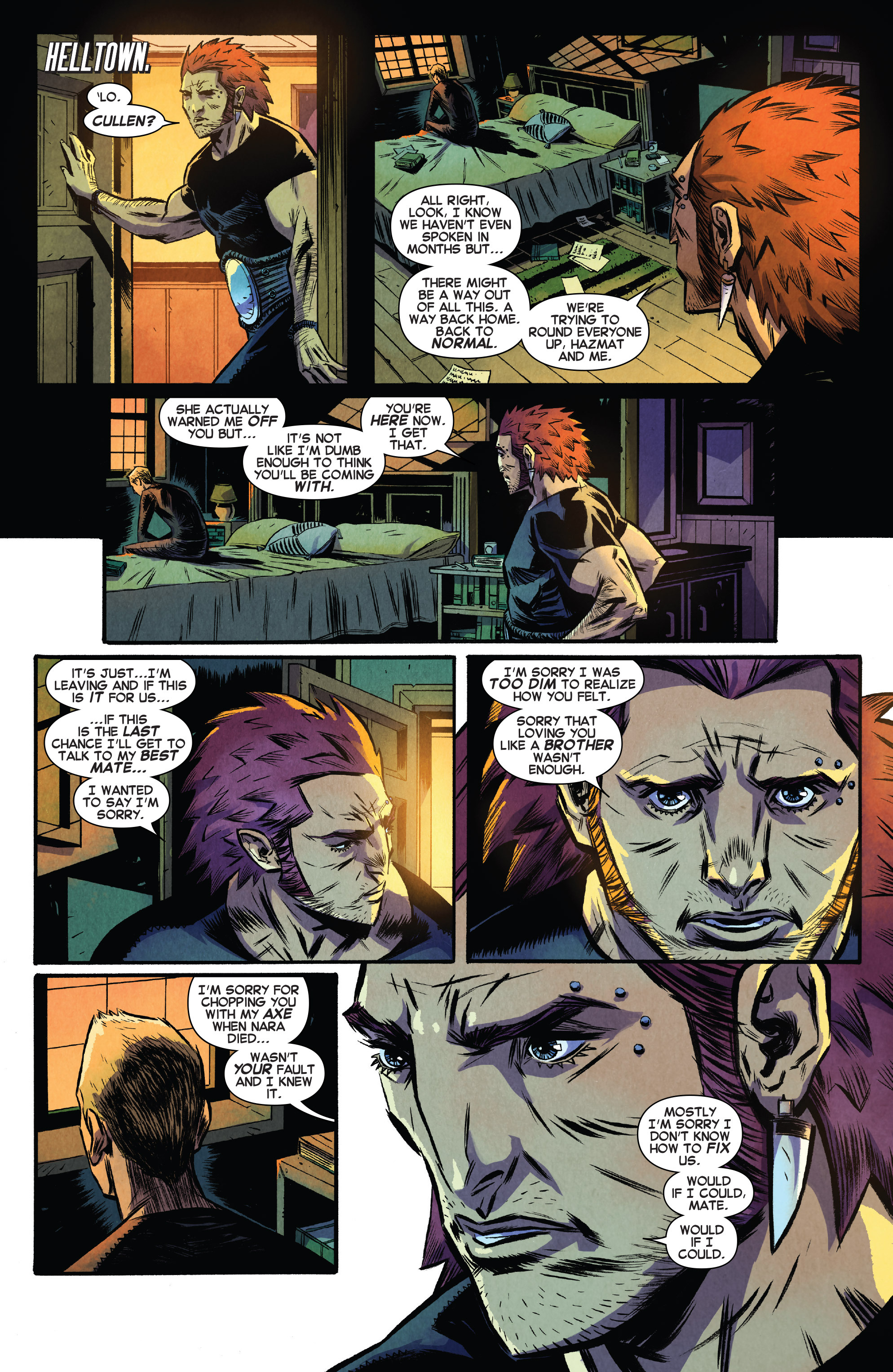 Read online Avengers Undercover comic -  Issue #8 - 14