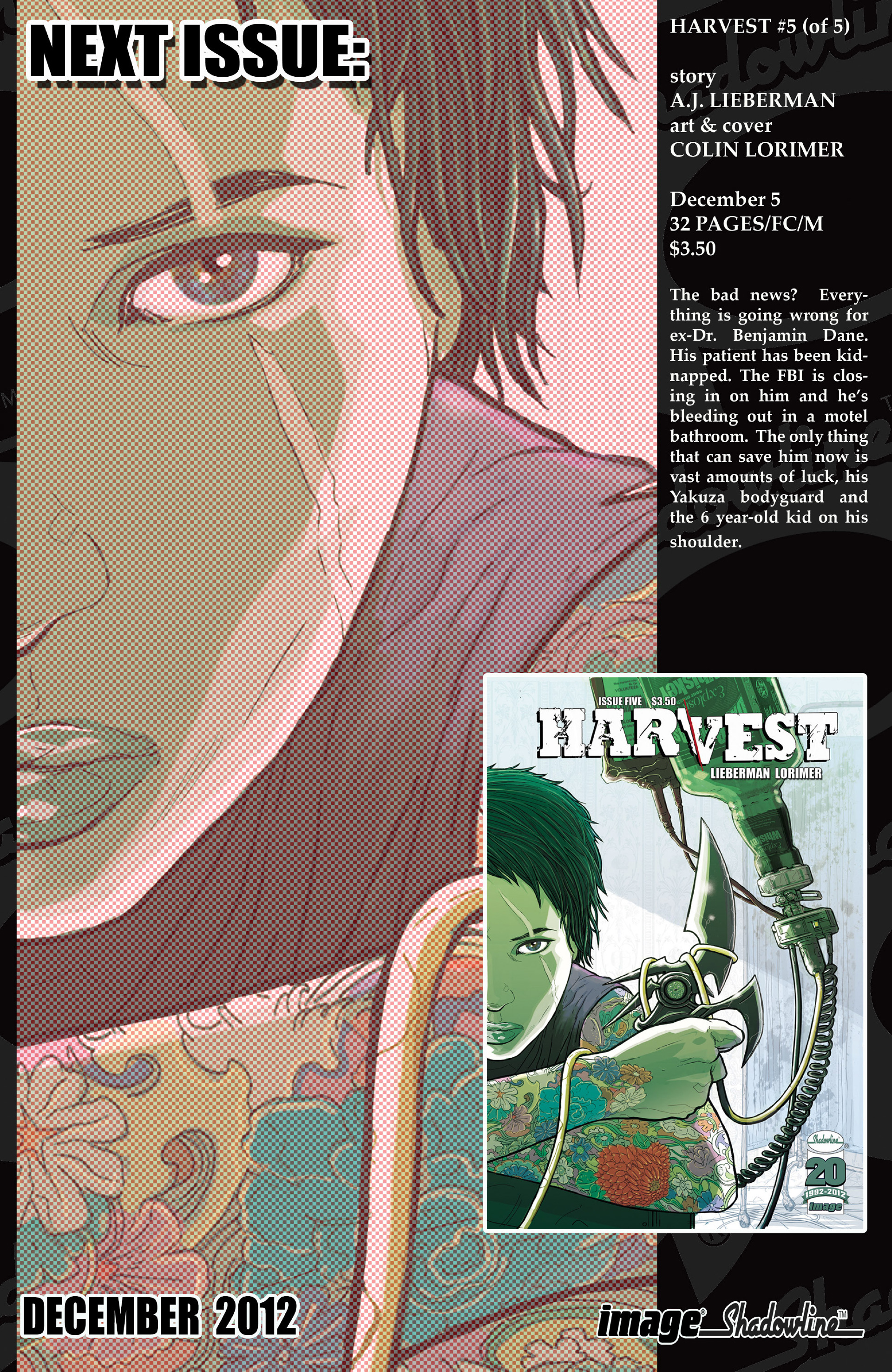 Read online Harvest comic -  Issue #4 - 30