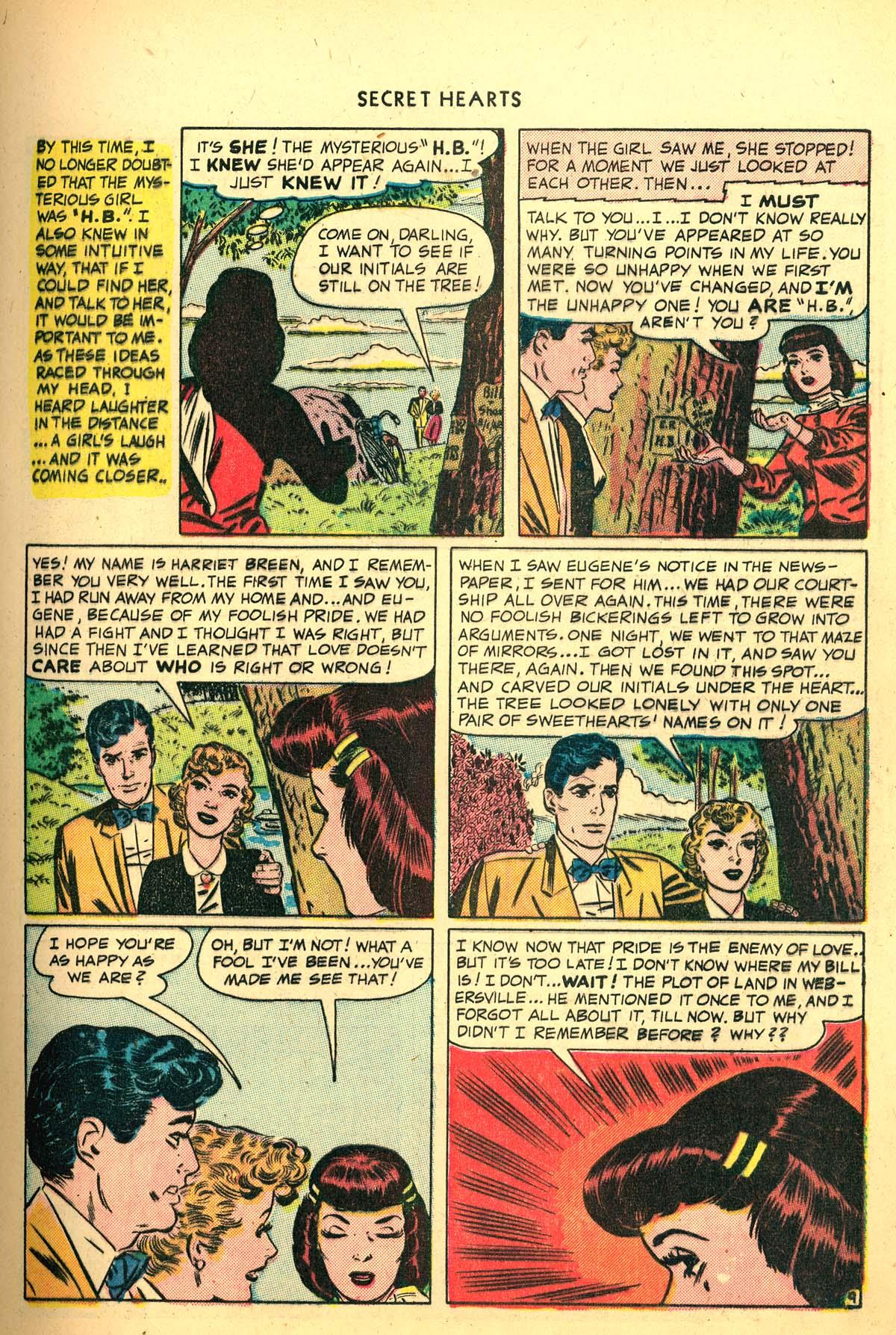 Read online Secret Hearts comic -  Issue #4 - 11