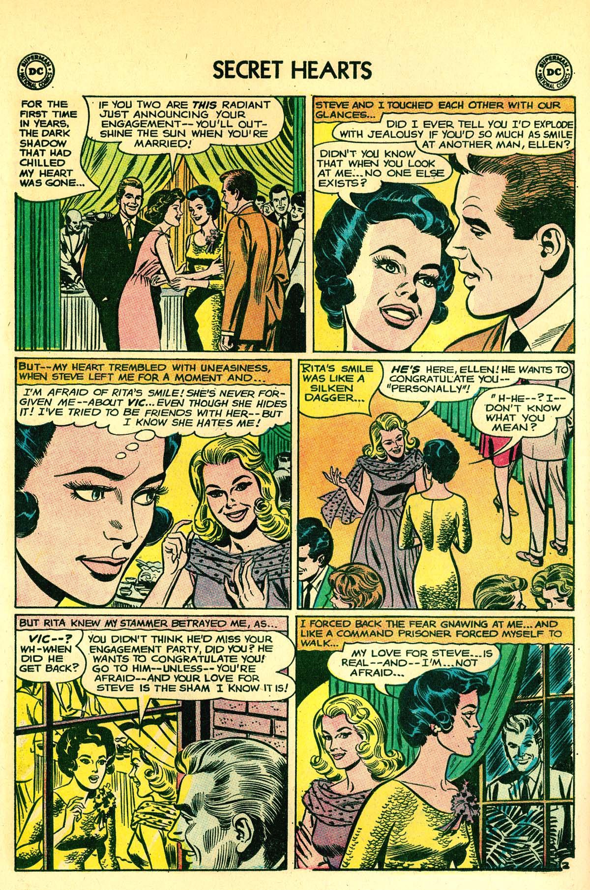 Read online Secret Hearts comic -  Issue #89 - 28