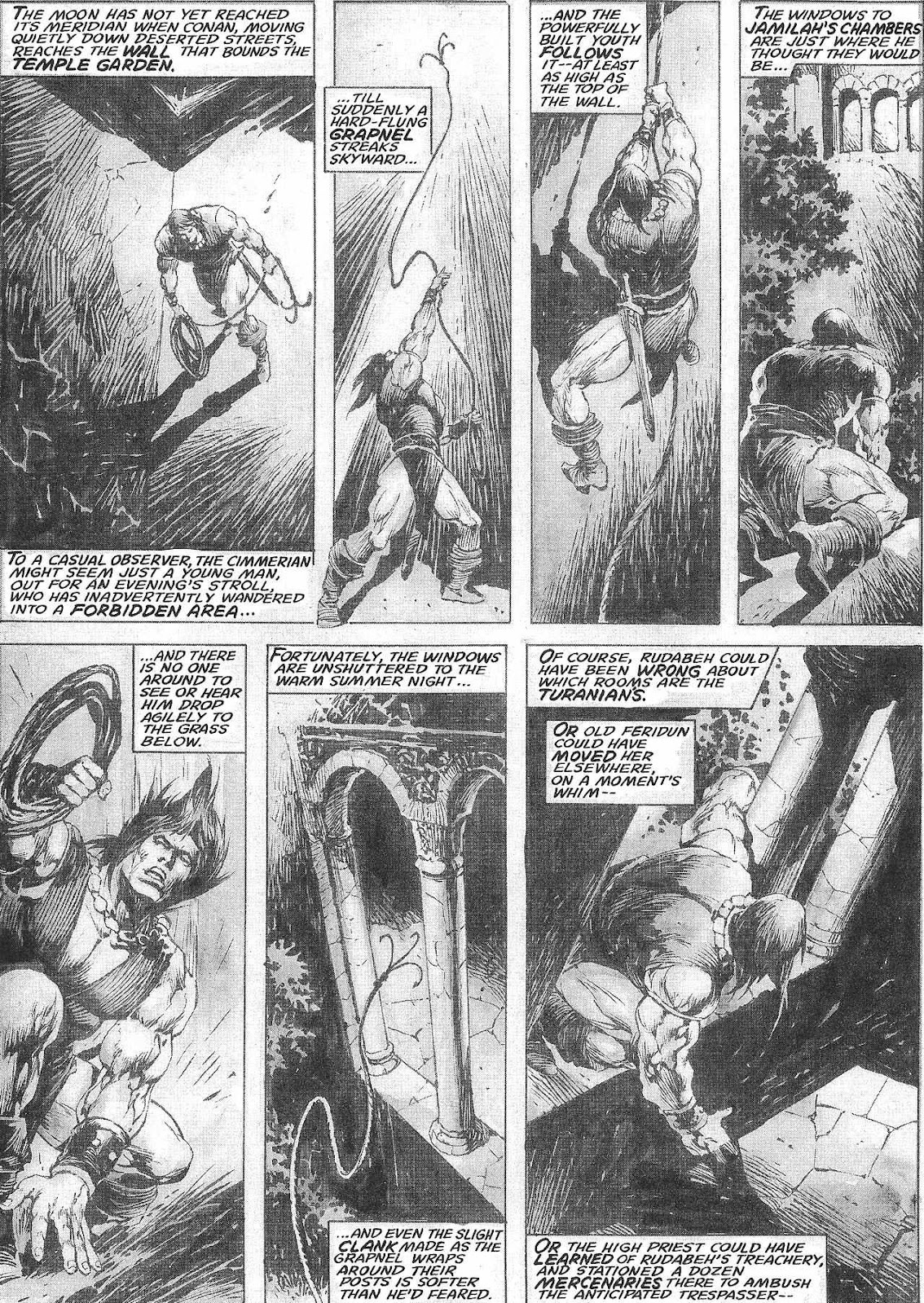The Savage Sword Of Conan Issue #209 #210 - English 29