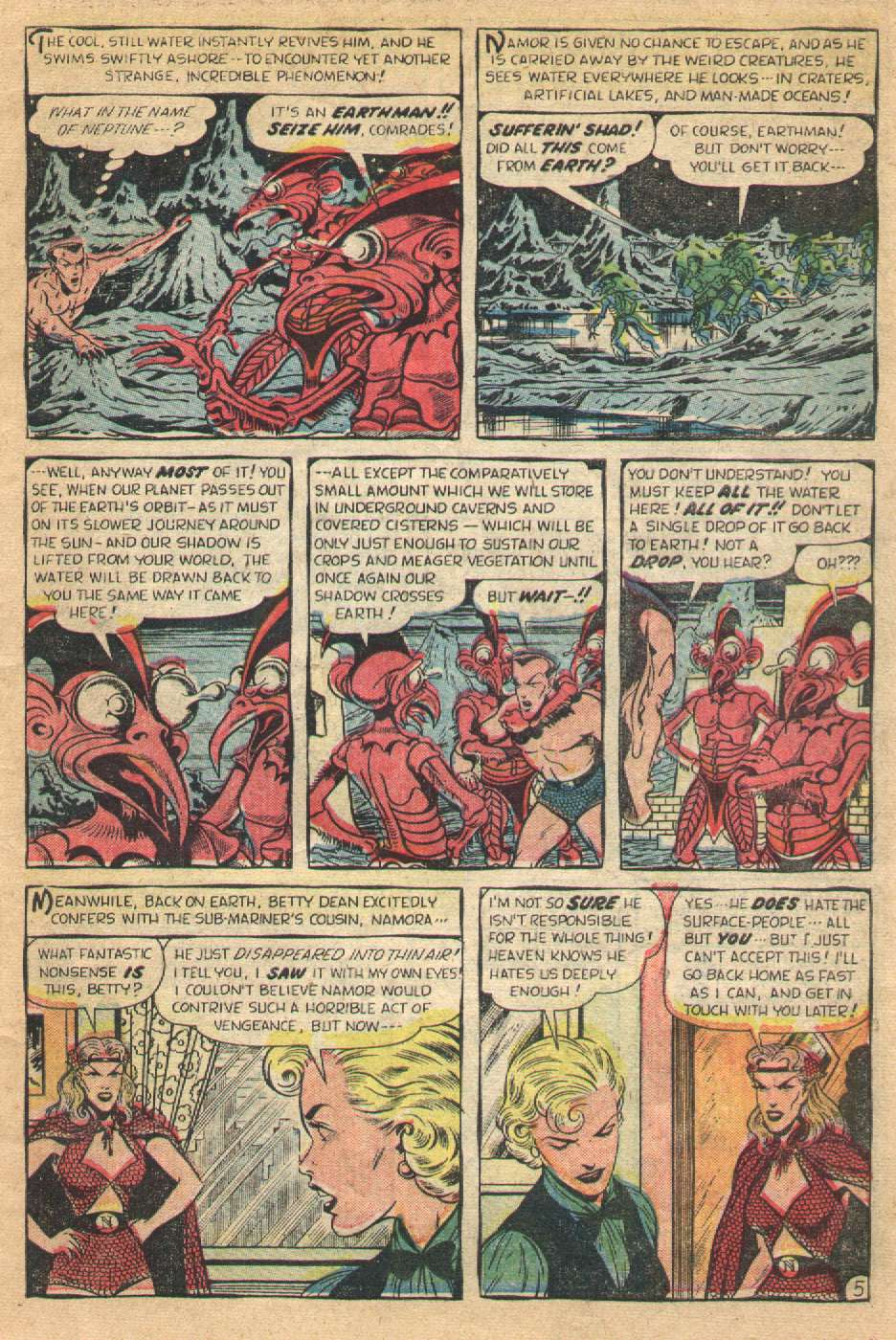 Sub-Mariner Comics #36 #36 - English 7
