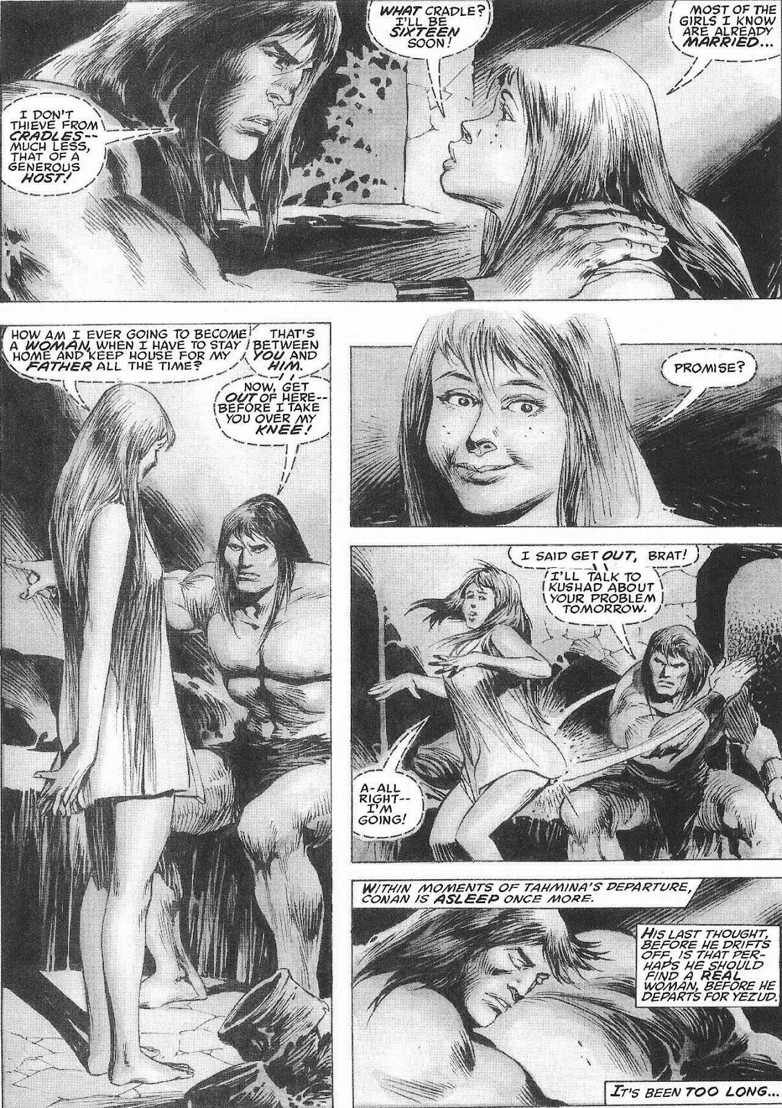 The Savage Sword Of Conan Issue #207 #208 - English 39