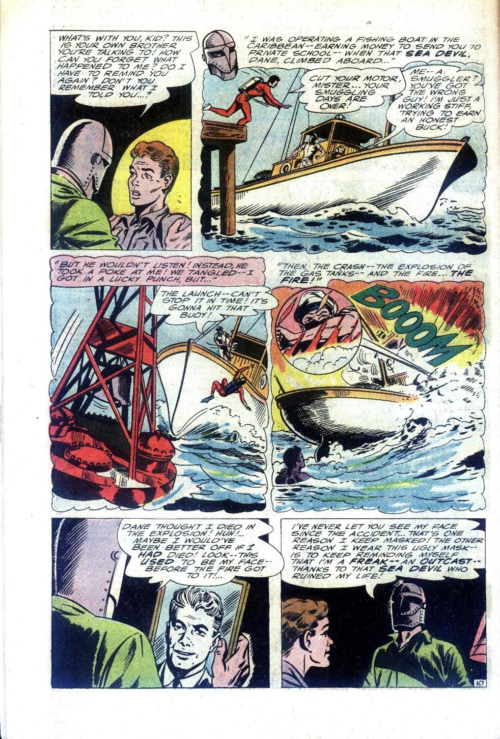 Read online Sea Devils comic -  Issue #27 - 15