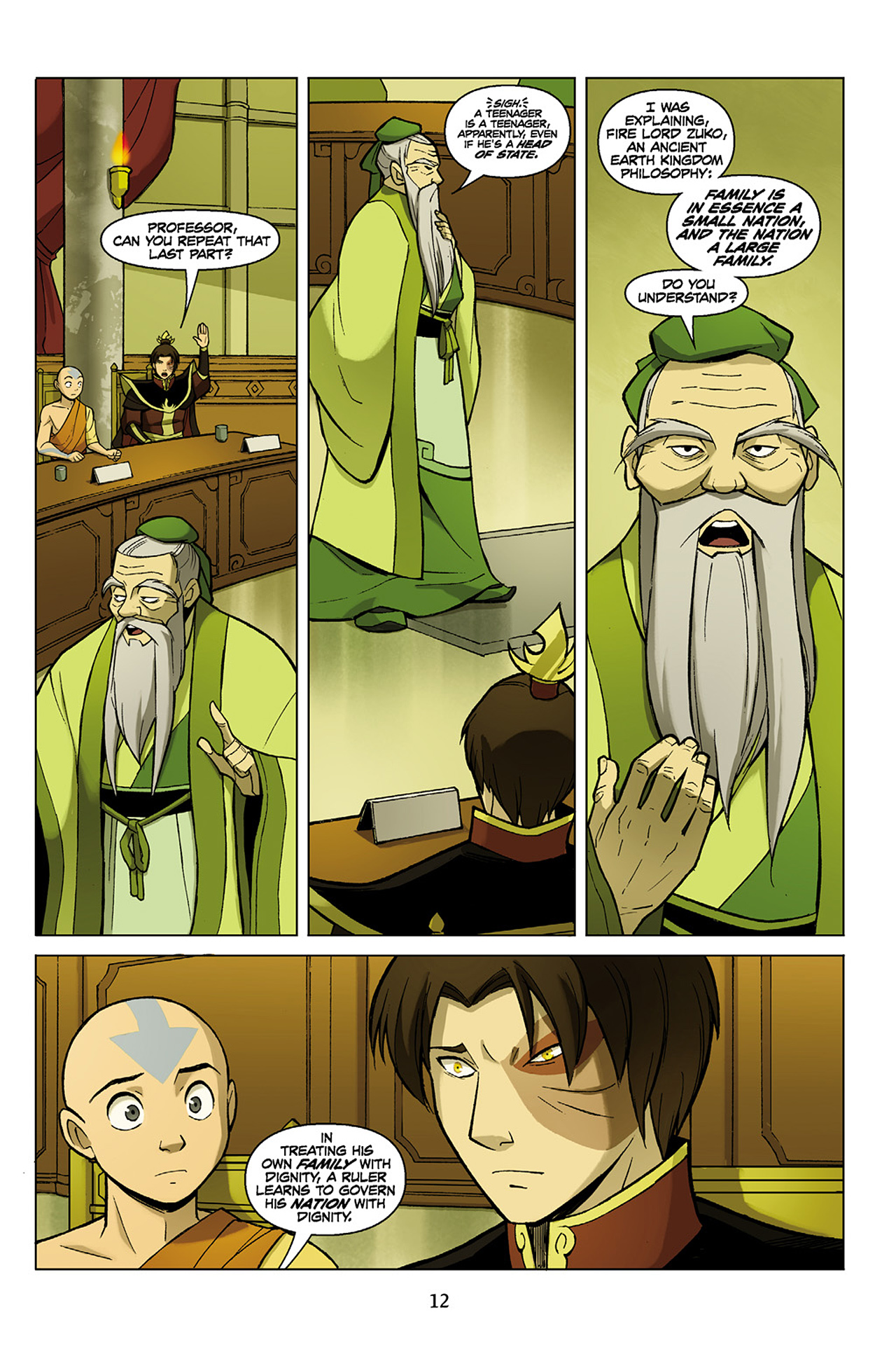 Read online Nickelodeon Avatar: The Last Airbender - The Search comic -  Issue # Part 1 - 13
