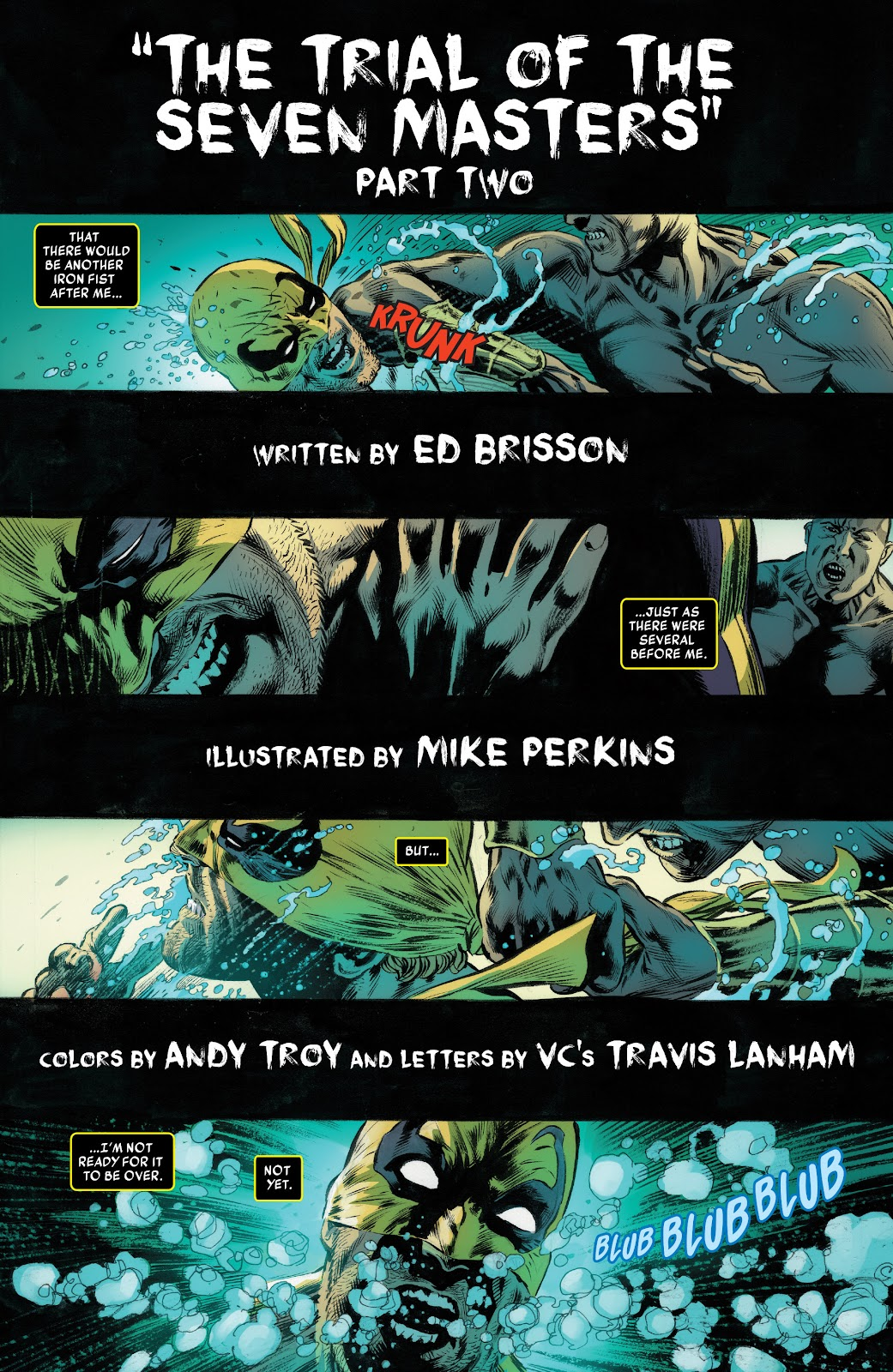 Iron Fist (2017) Issue #2 #2 - English 4
