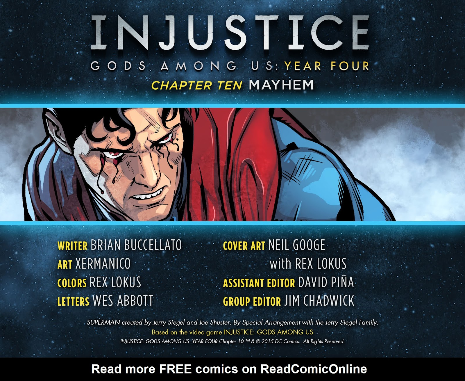 Injustice: Gods Among Us Year Four Issue #10 #11 - English 3