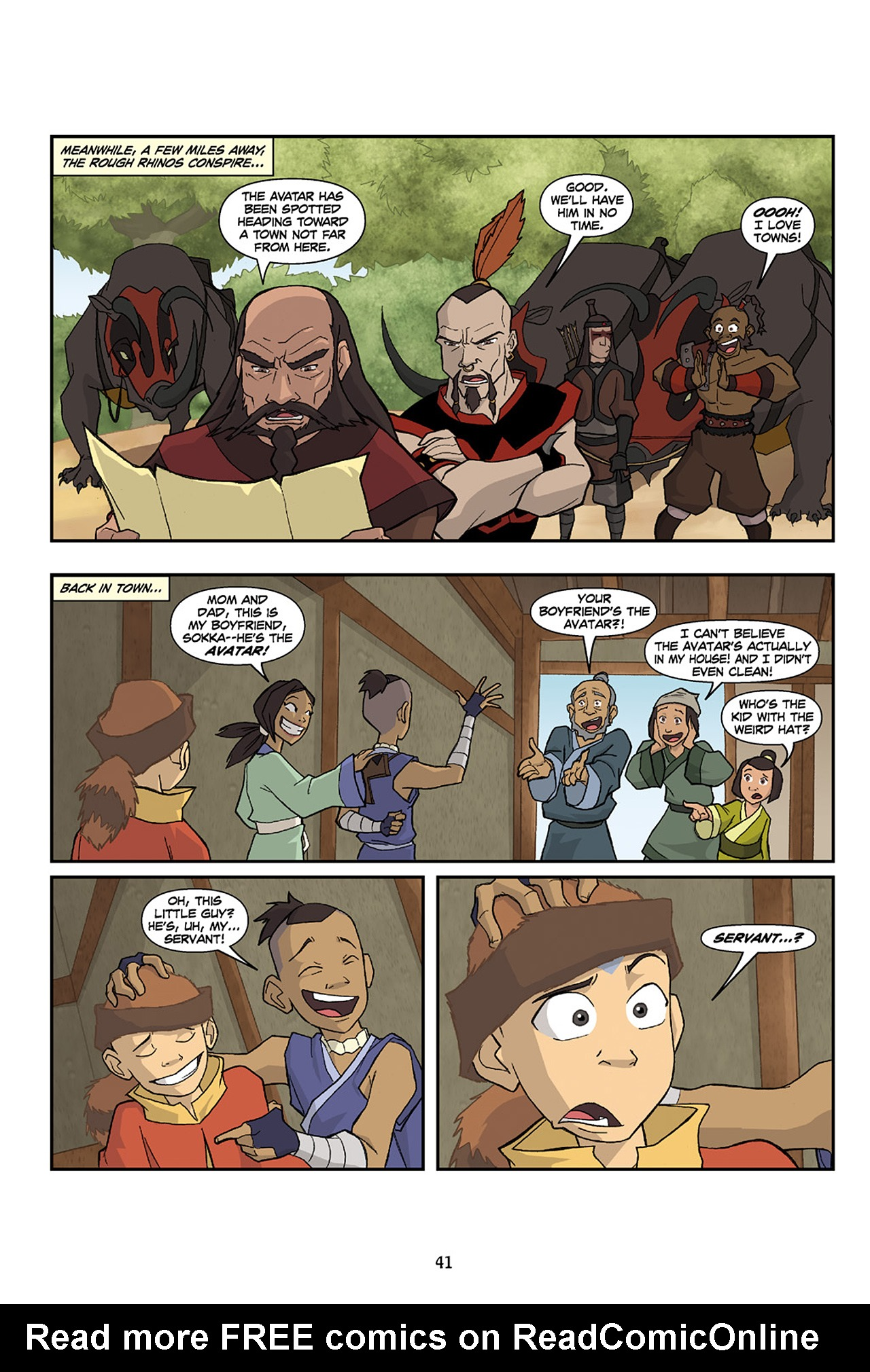 Nickelodeon Avatar: The Last Airbender - The Lost Adventures chap full pic 42