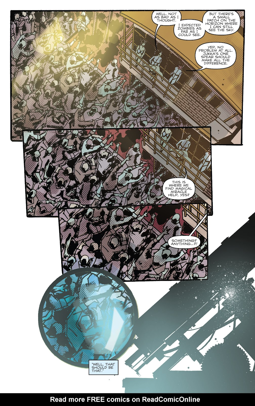 Zombies vs Robots (2015) Issue #9 Page 19