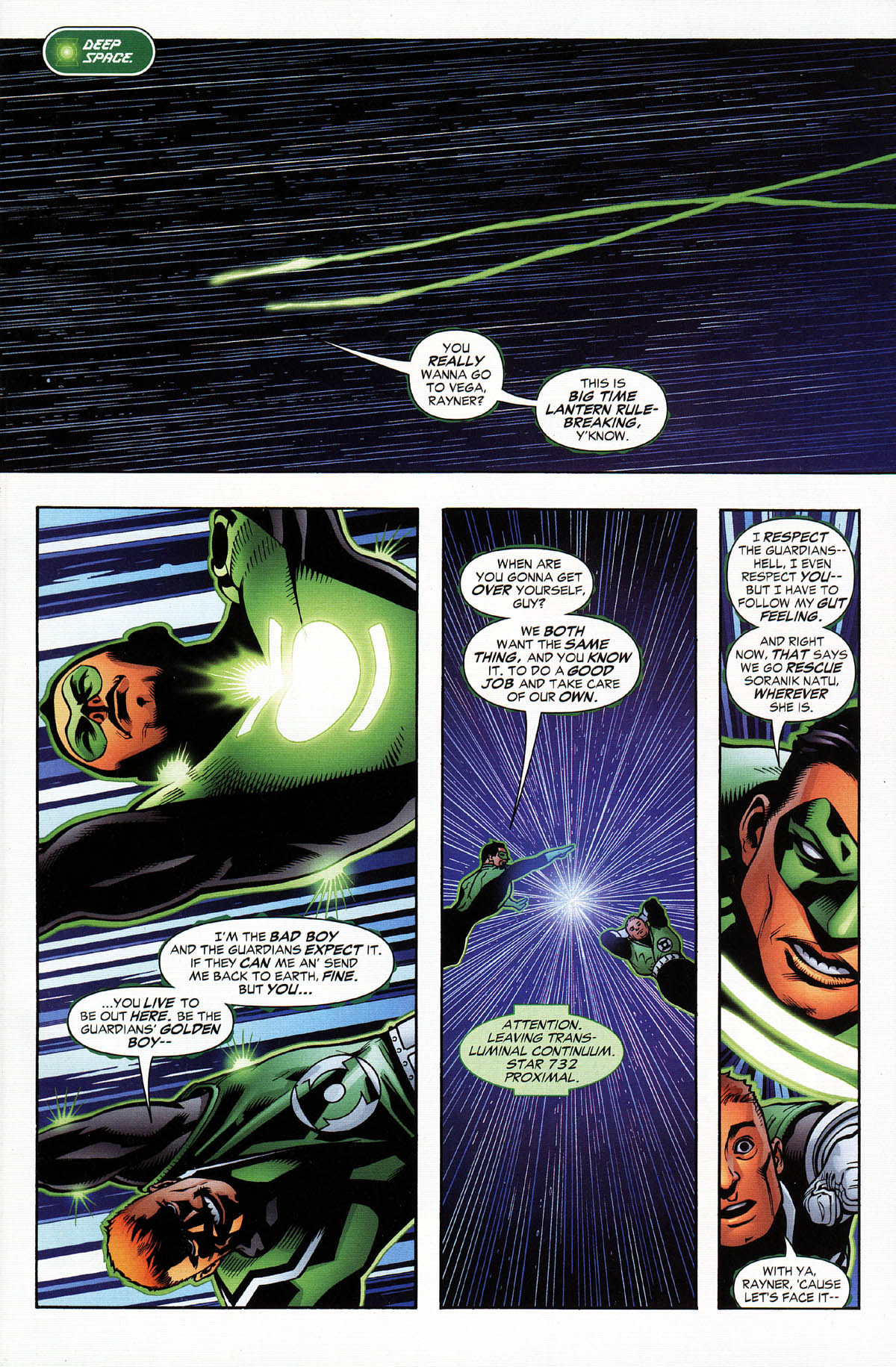 Read online Green Lantern Corps: Recharge comic -  Issue #3 - 2