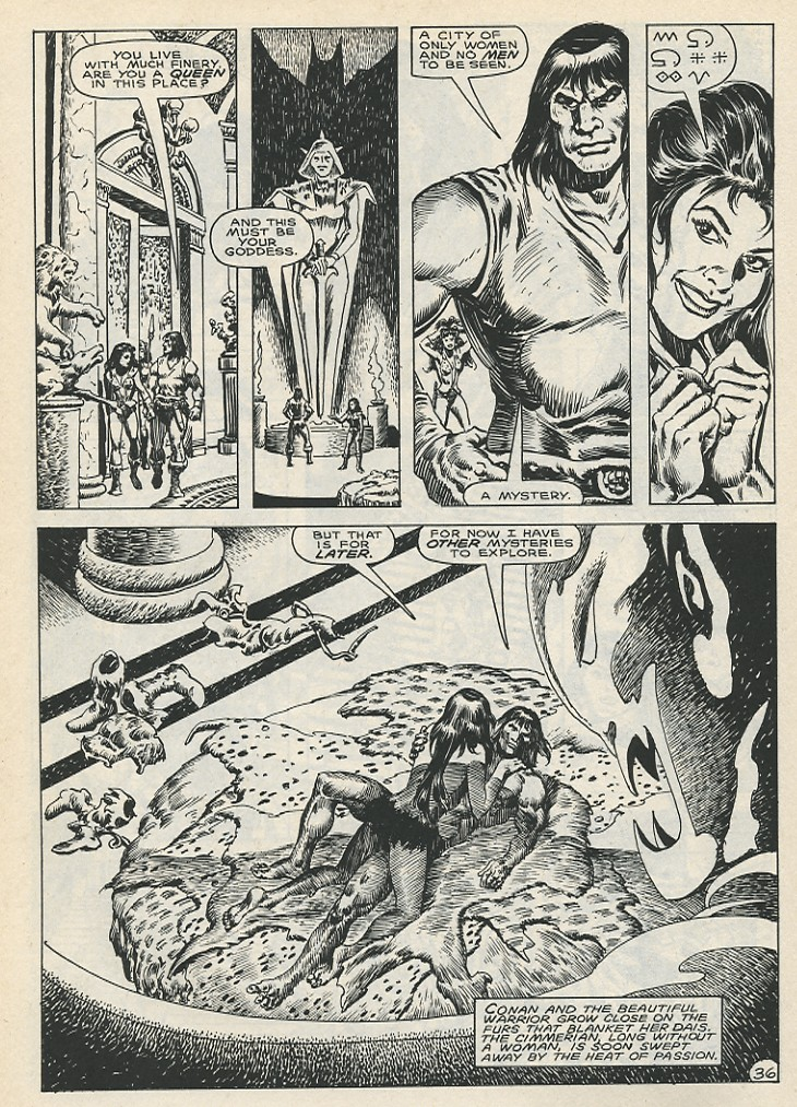 The Savage Sword Of Conan Issue #141 #142 - English 42