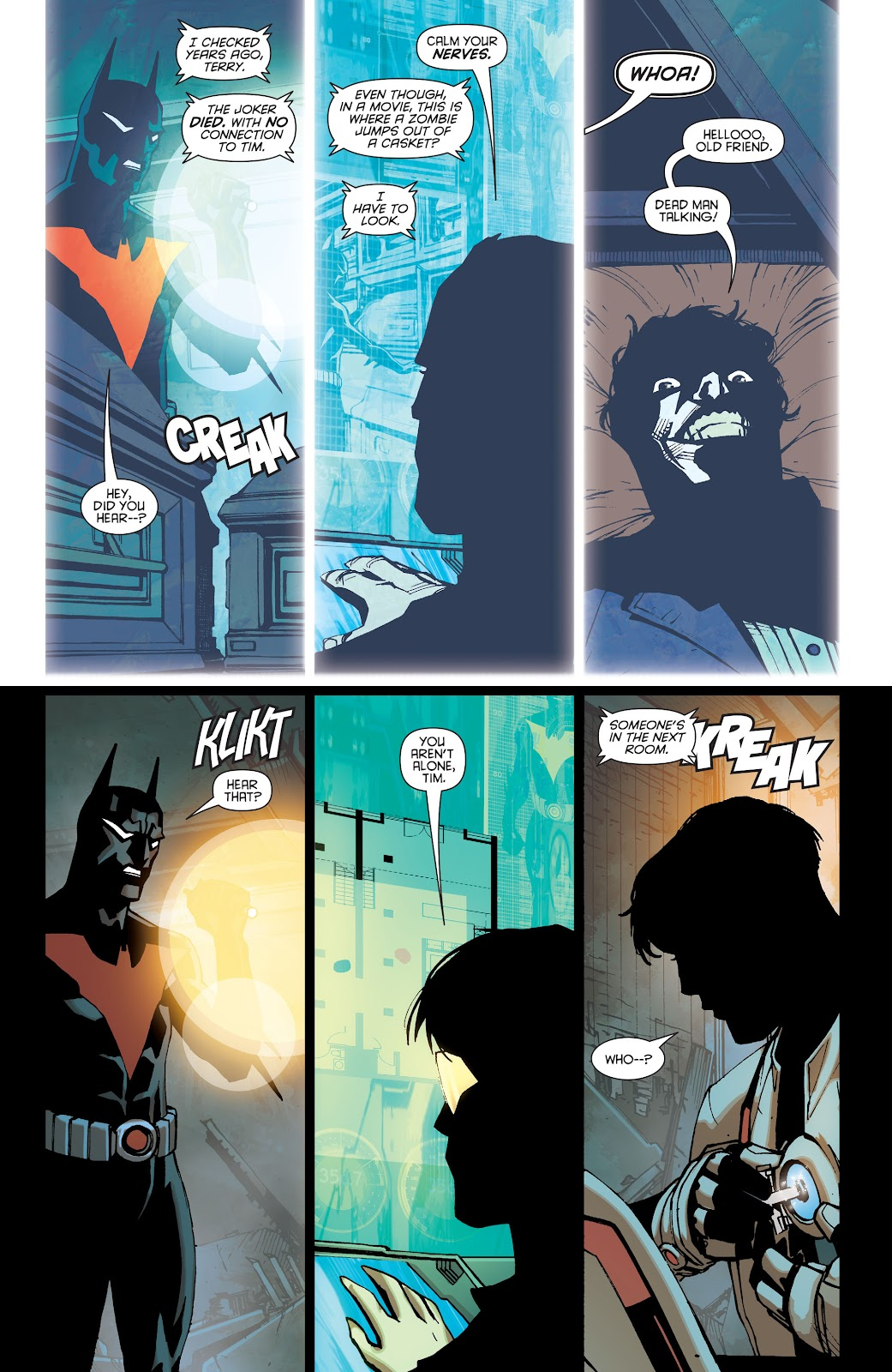 Batman Beyond (2015) Issue #13 #13 - English 12