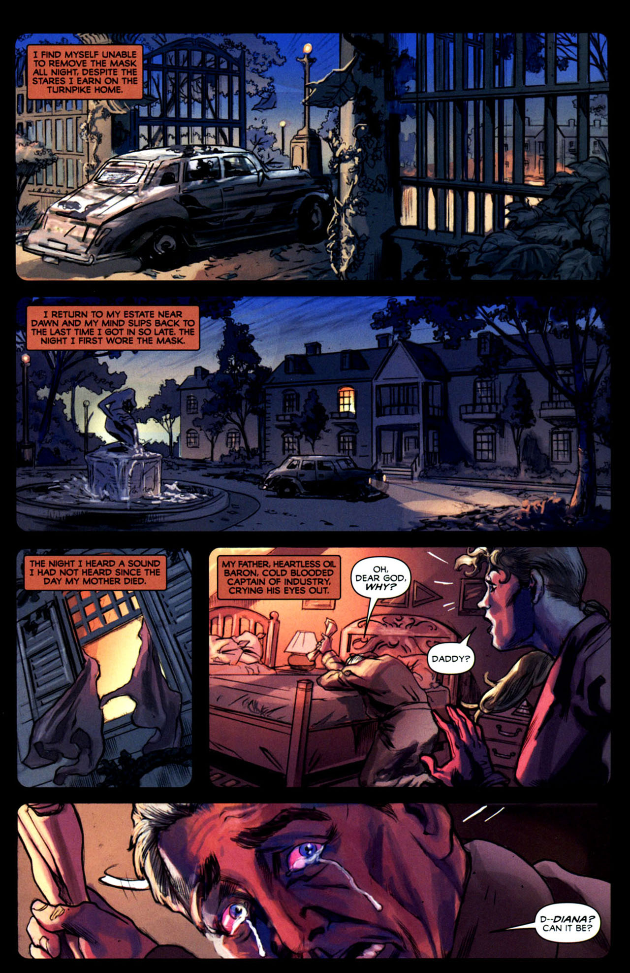 Read online Masquerade comic -  Issue #2 - 30