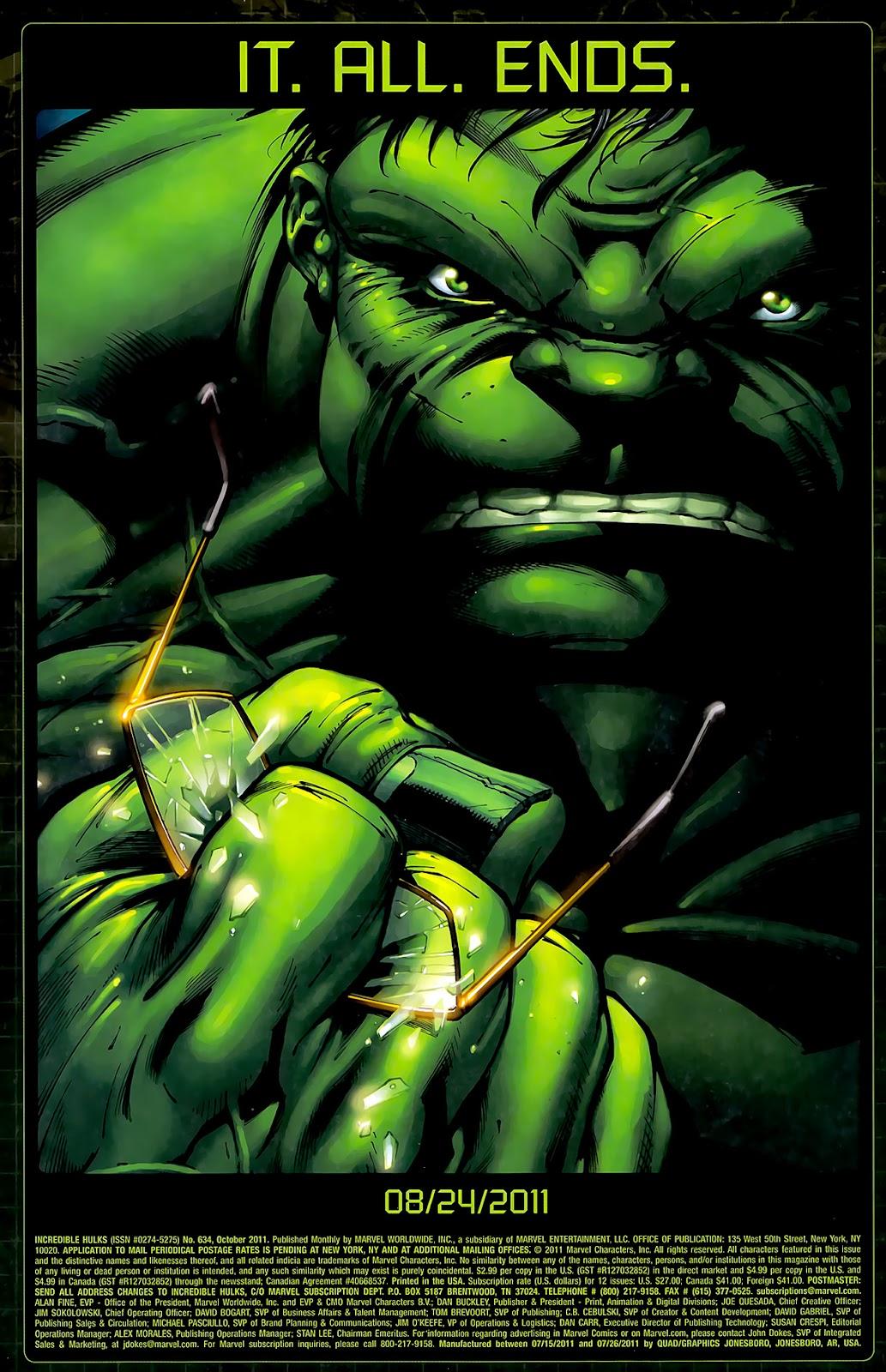 Incredible Hulks (2010) Issue #634 #24 - English 21