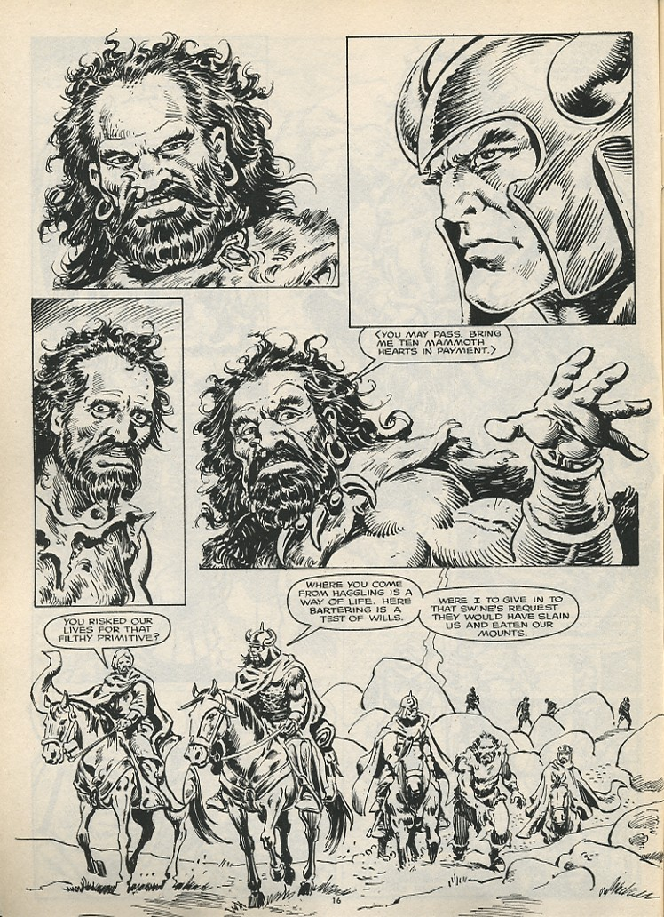 The Savage Sword Of Conan Issue #178 #179 - English 18