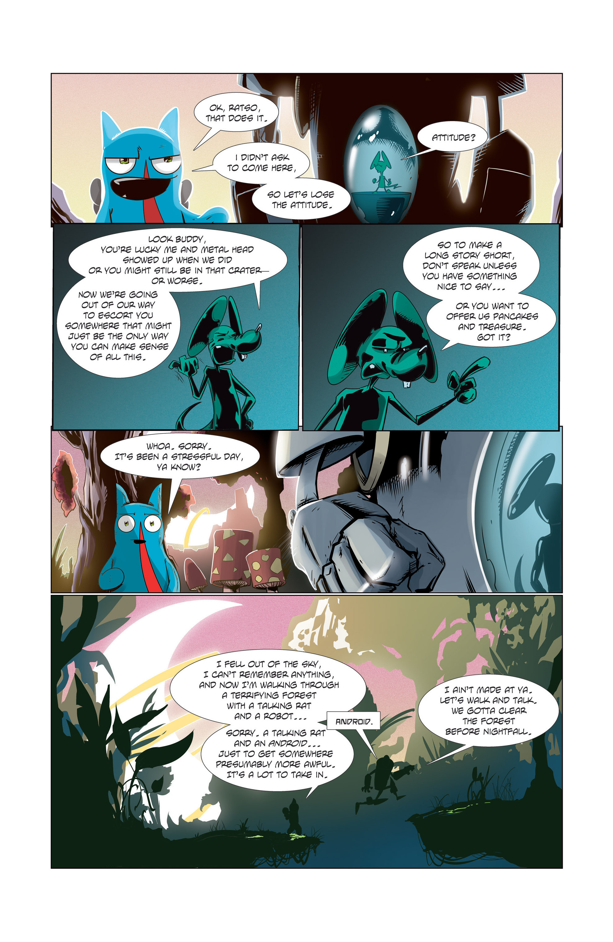 The Adventures of Miru - Chapter  2 | pic 3