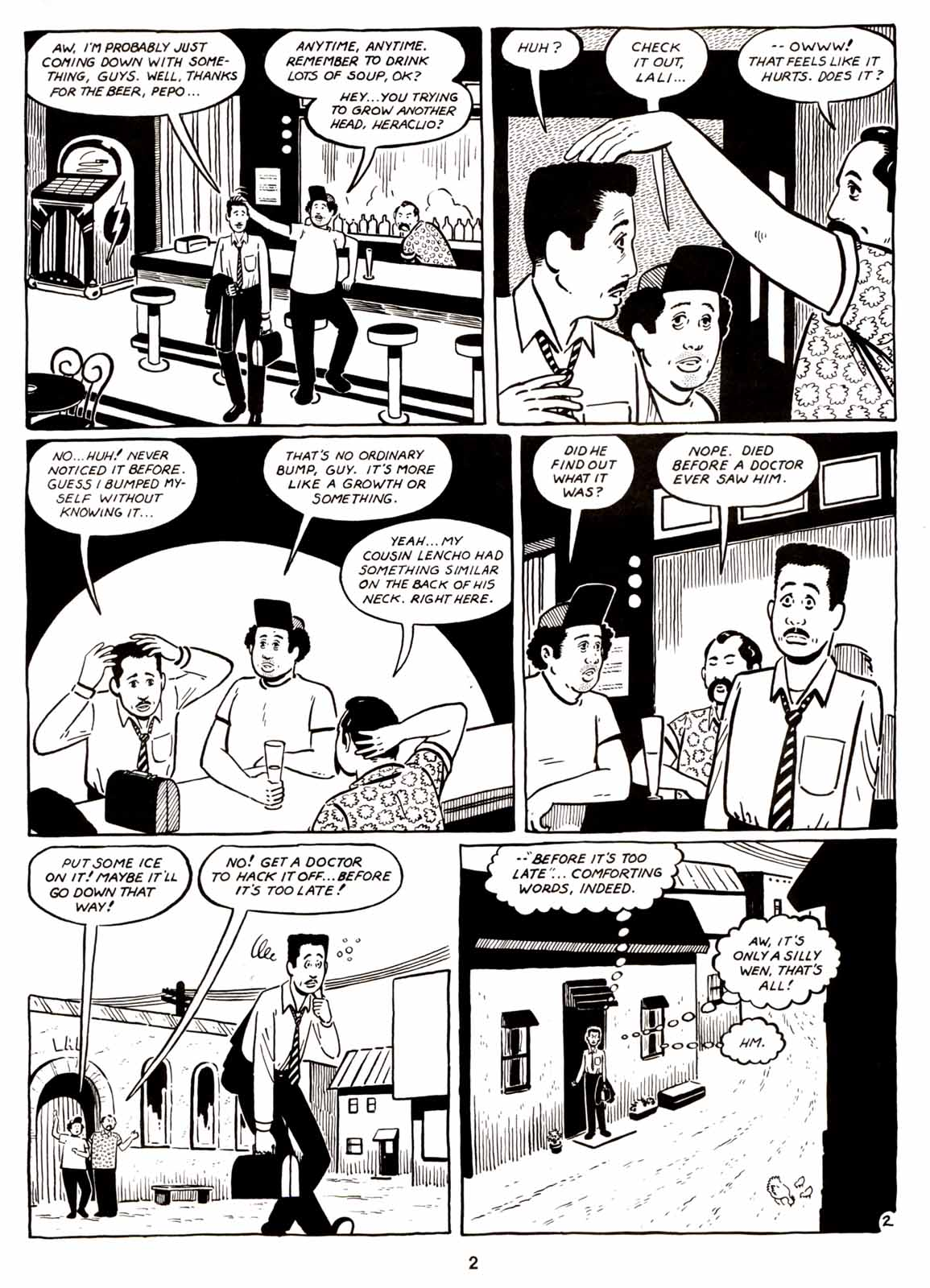 Love and Rockets (1982) Issue #6 #5 - English 4