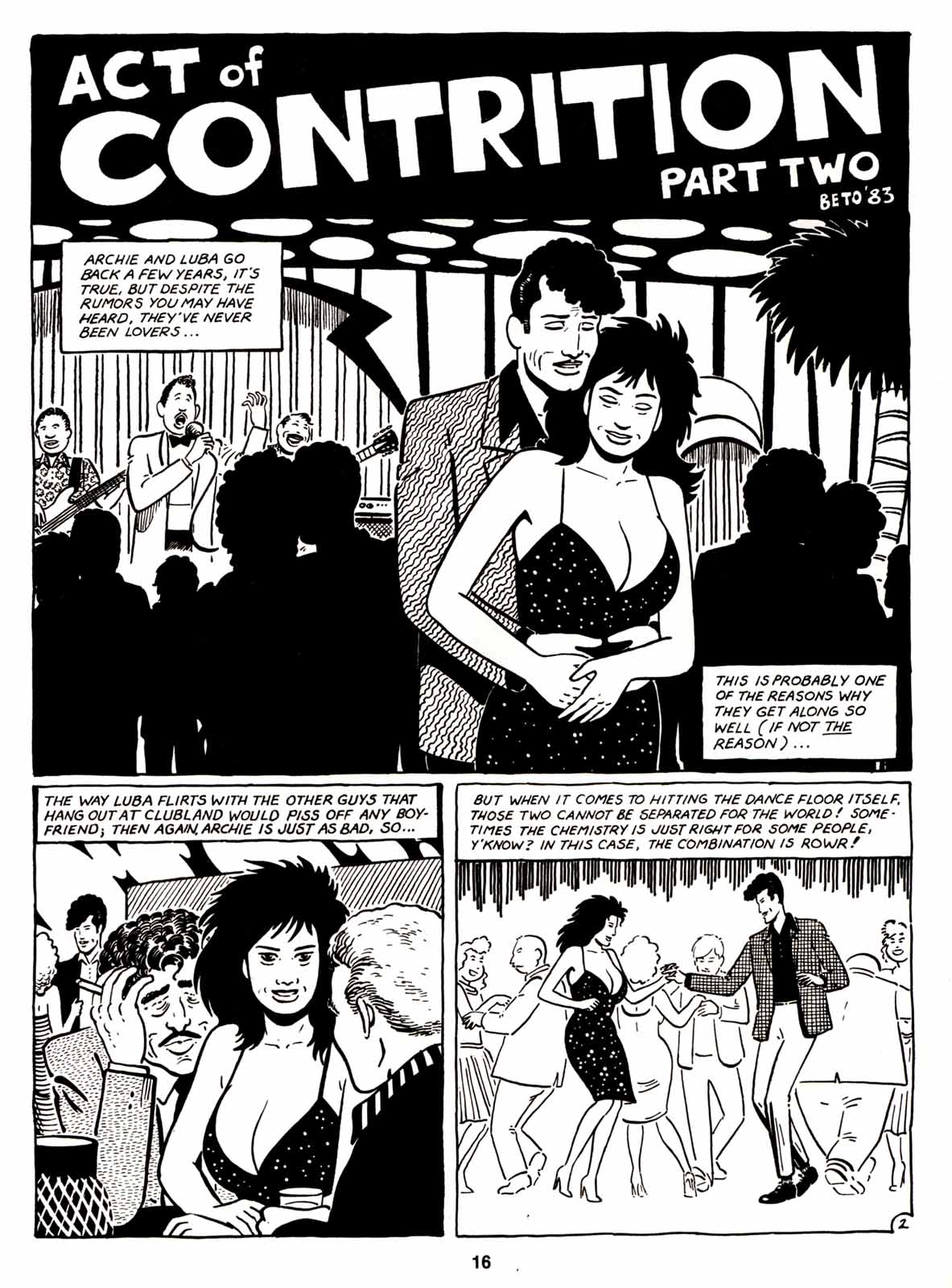 Love and Rockets (1982) Issue #6 #5 - English 18