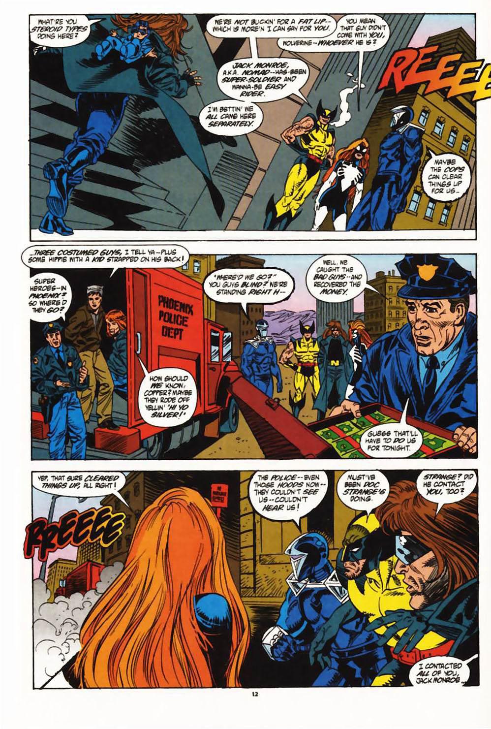Read online Secret Defenders comic -  Issue #1 - 10