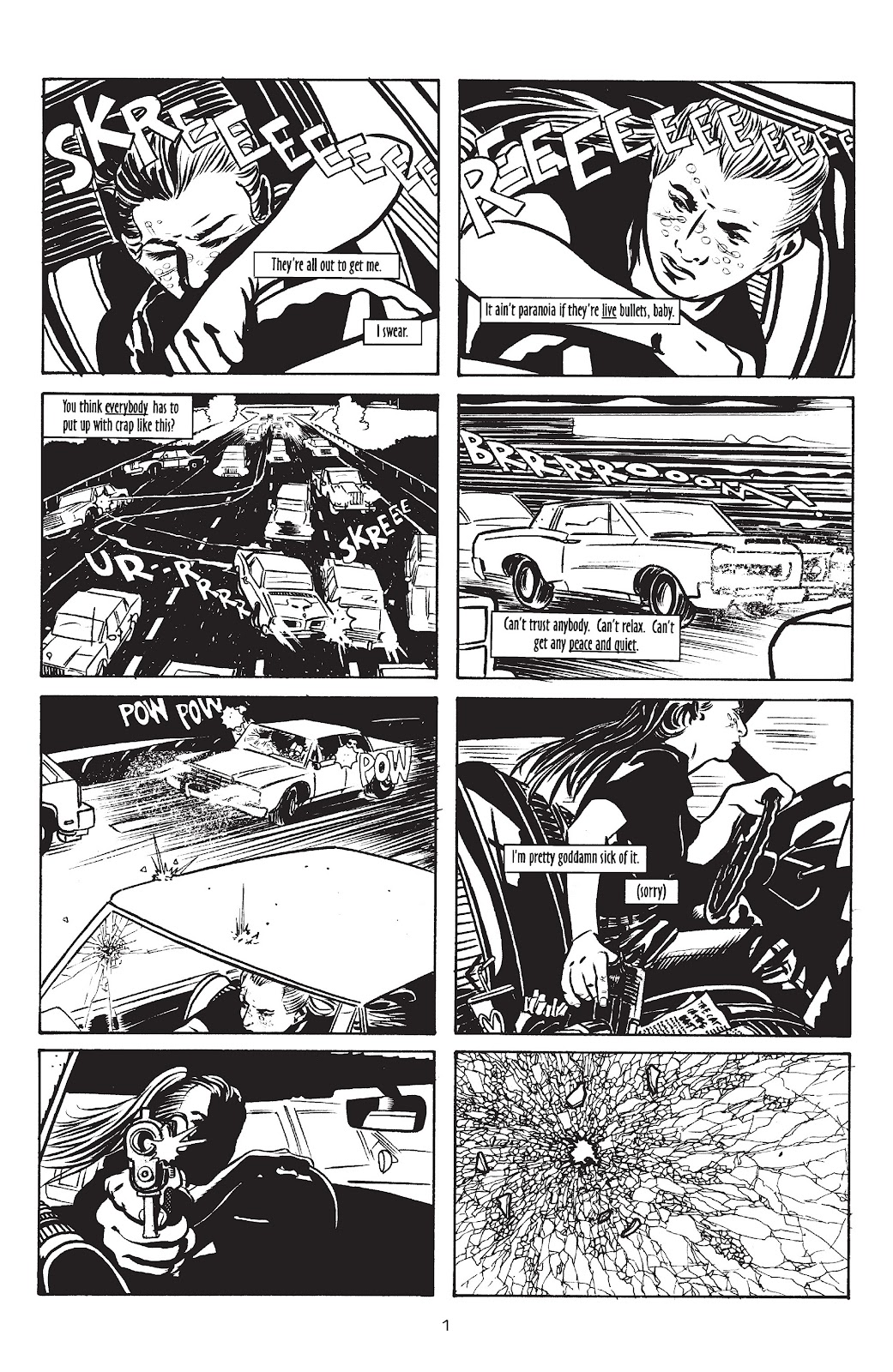 Stray Bullets Issue #10 #10 - English 3