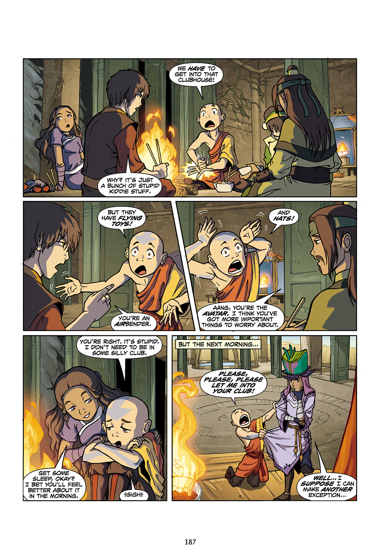 Nickelodeon Avatar: The Last Airbender - The Lost Adventures chap full pic 188
