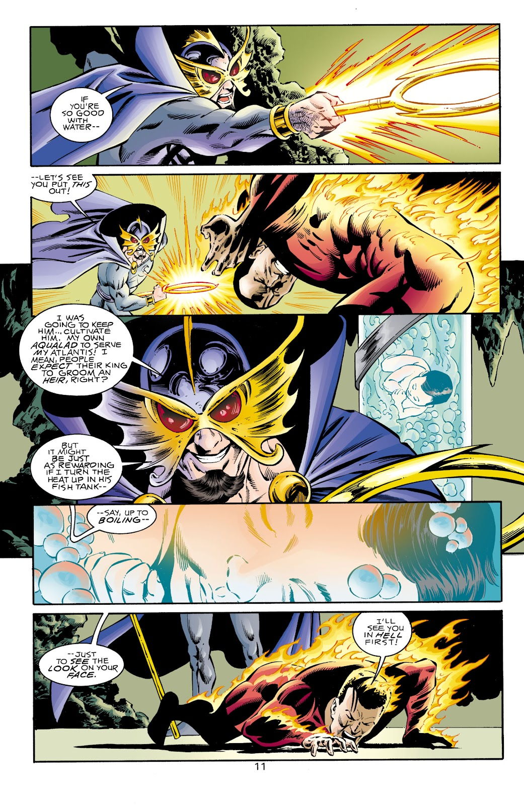 Aquaman (1994) Issue #68 #74 - English 12
