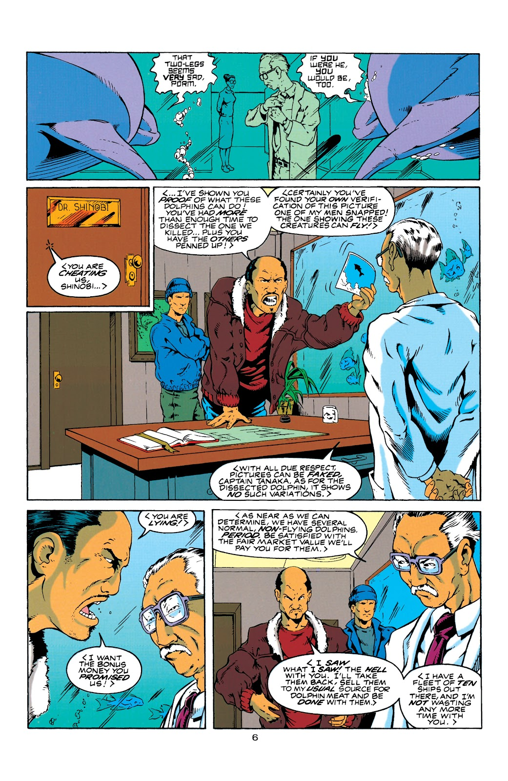 Aquaman (1994) Issue #4 #10 - English 7